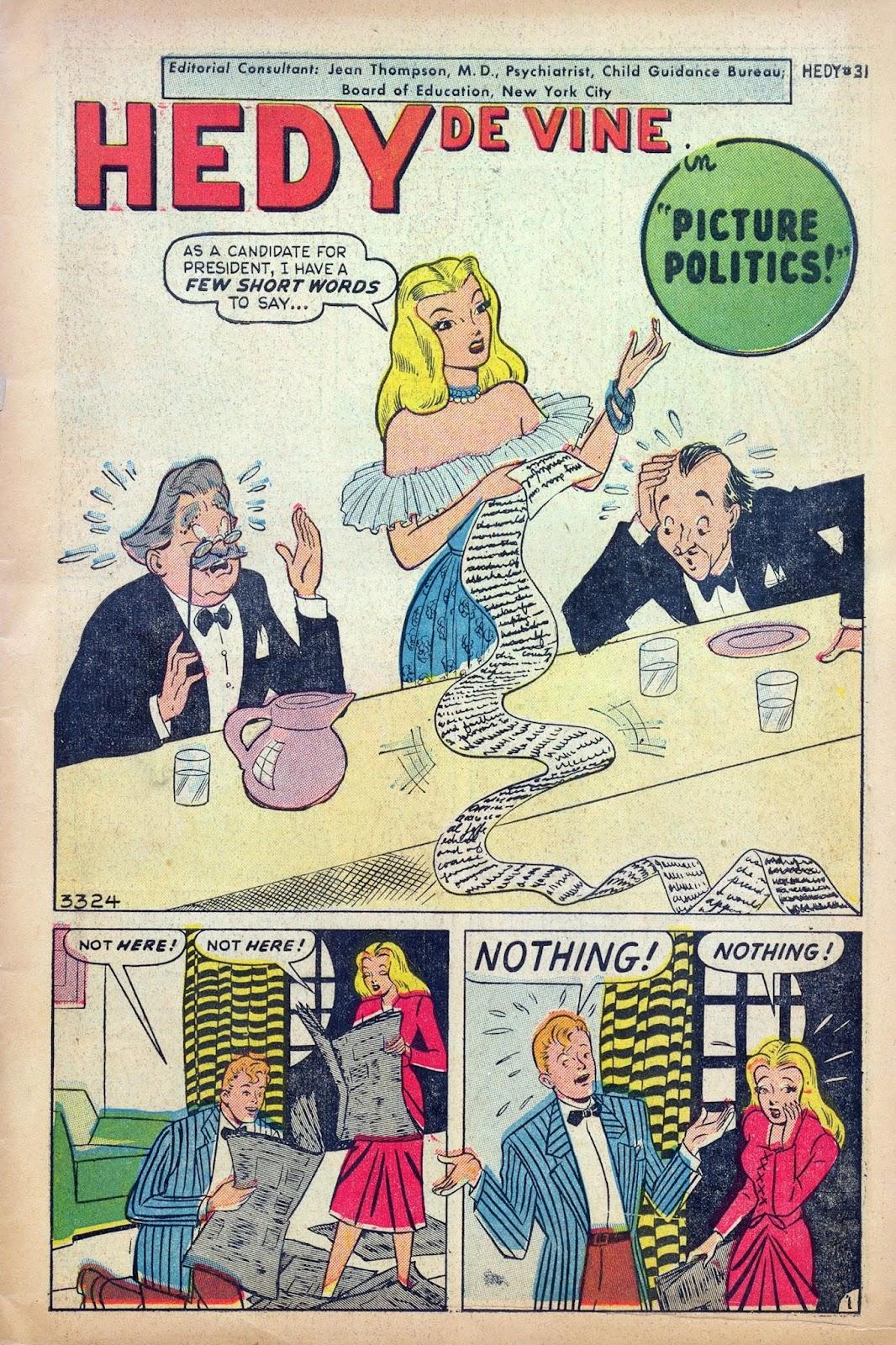 Hedy De Vine Comics issue 31 - Page 3