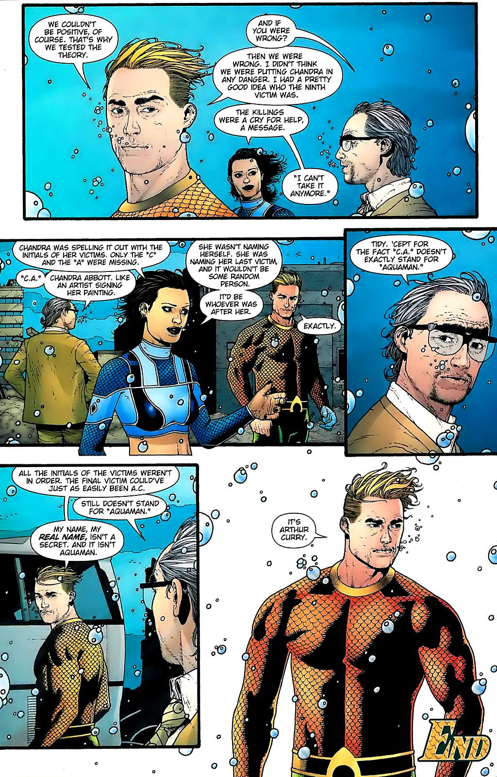 Read online Aquaman (2003) comic -  Issue #31 - 23