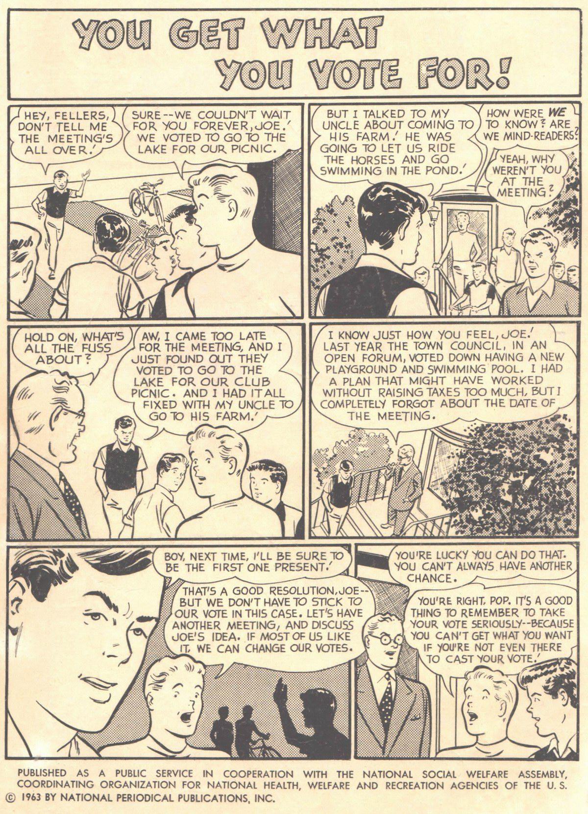 Read online Adventure Comics (1938) comic -  Issue #316 - 2