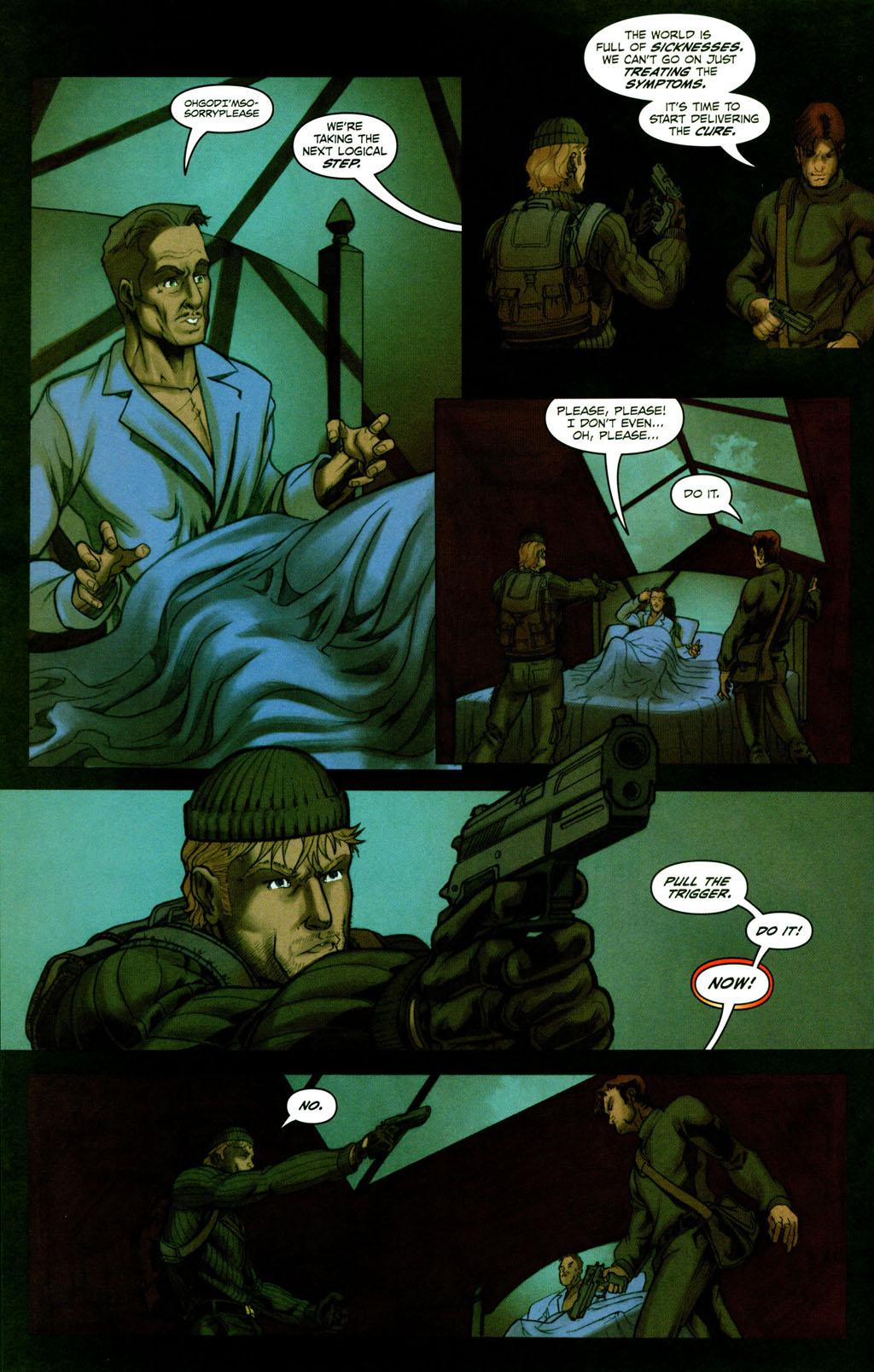 Read online Snake Eyes: Declassified comic -  Issue #2 - 18