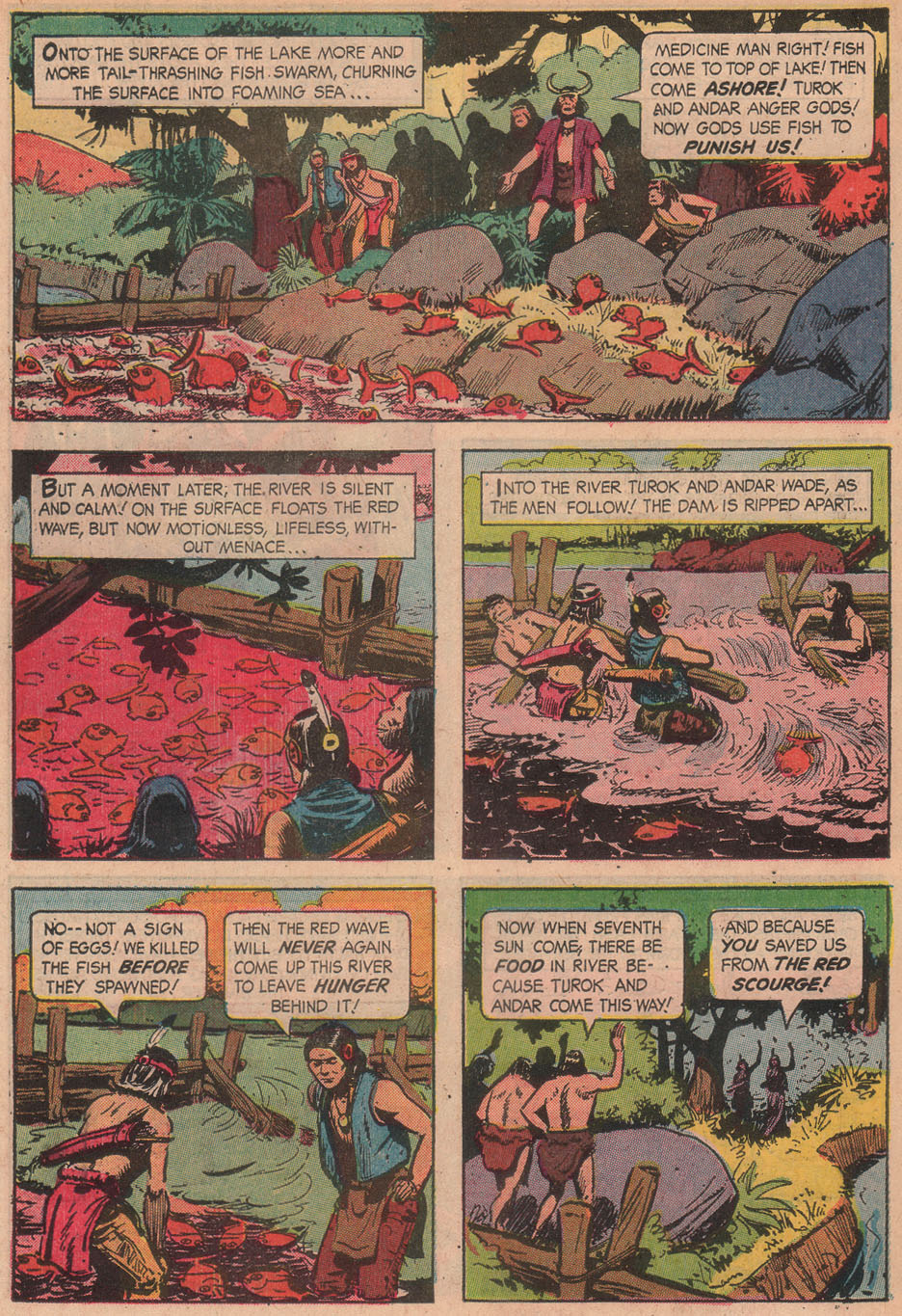 Read online Turok, Son of Stone comic -  Issue #51 - 34
