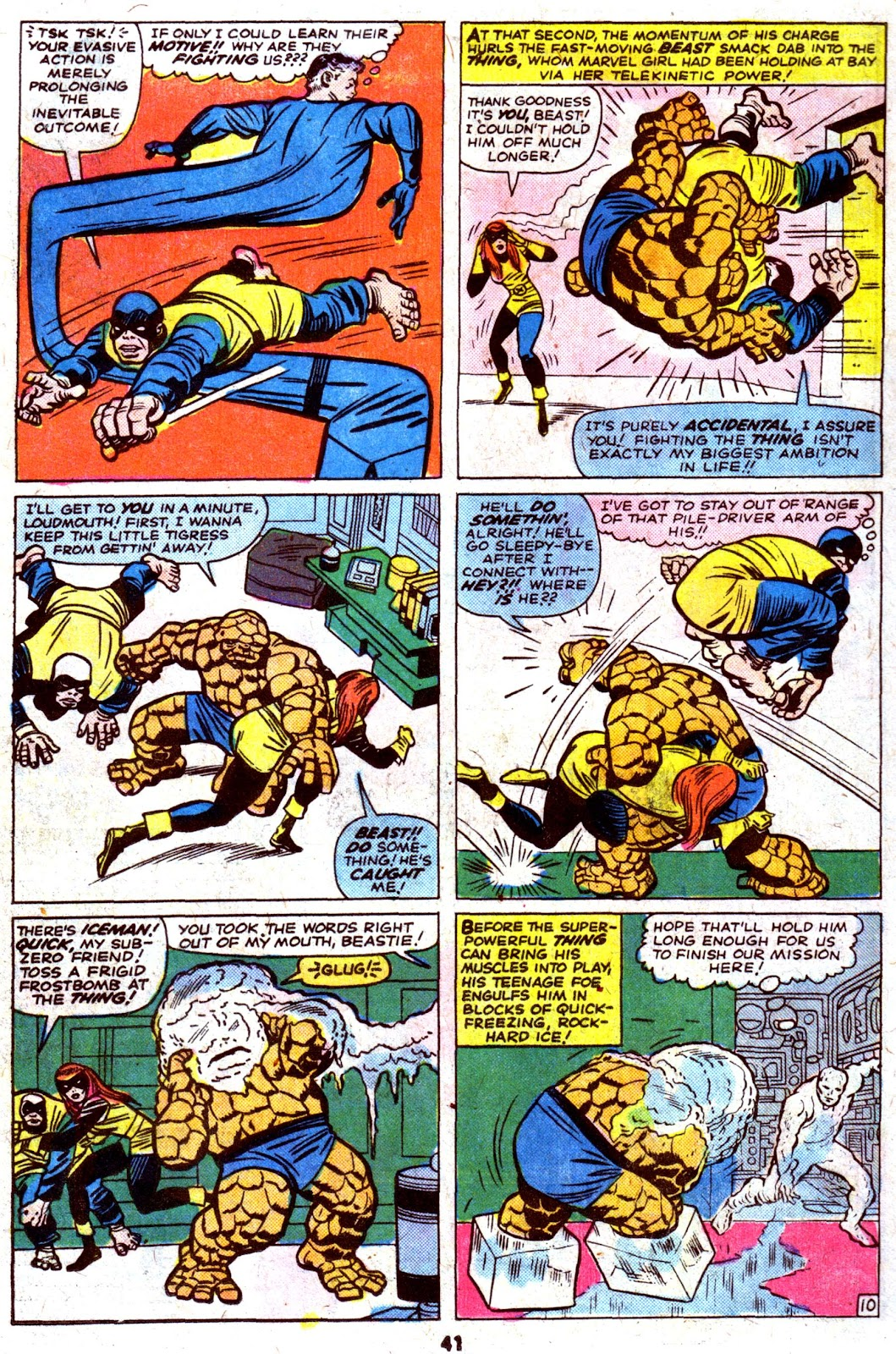Giant-Size Fantastic Four issue 4 - Page 43