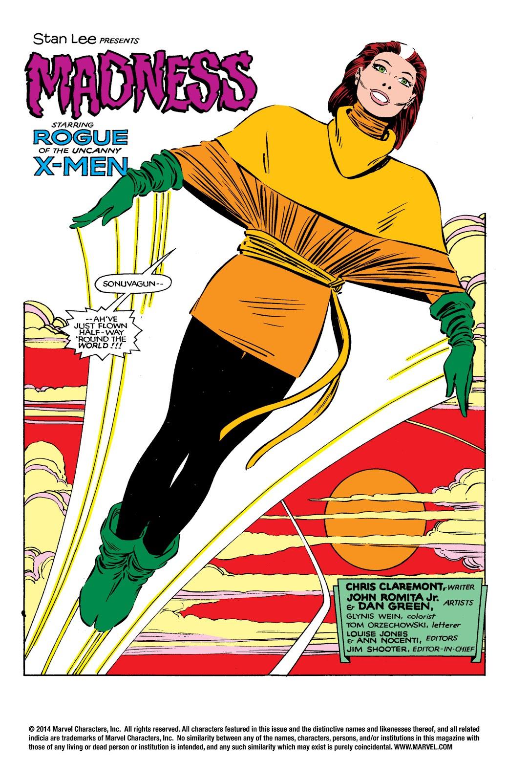 Uncanny X-Men (1963) issue 182 - Page 2