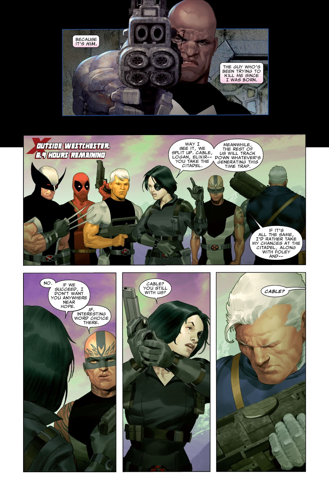 Read online X-Force/Cable: Messiah War comic -  Issue # _TPB (Part 2) - 53