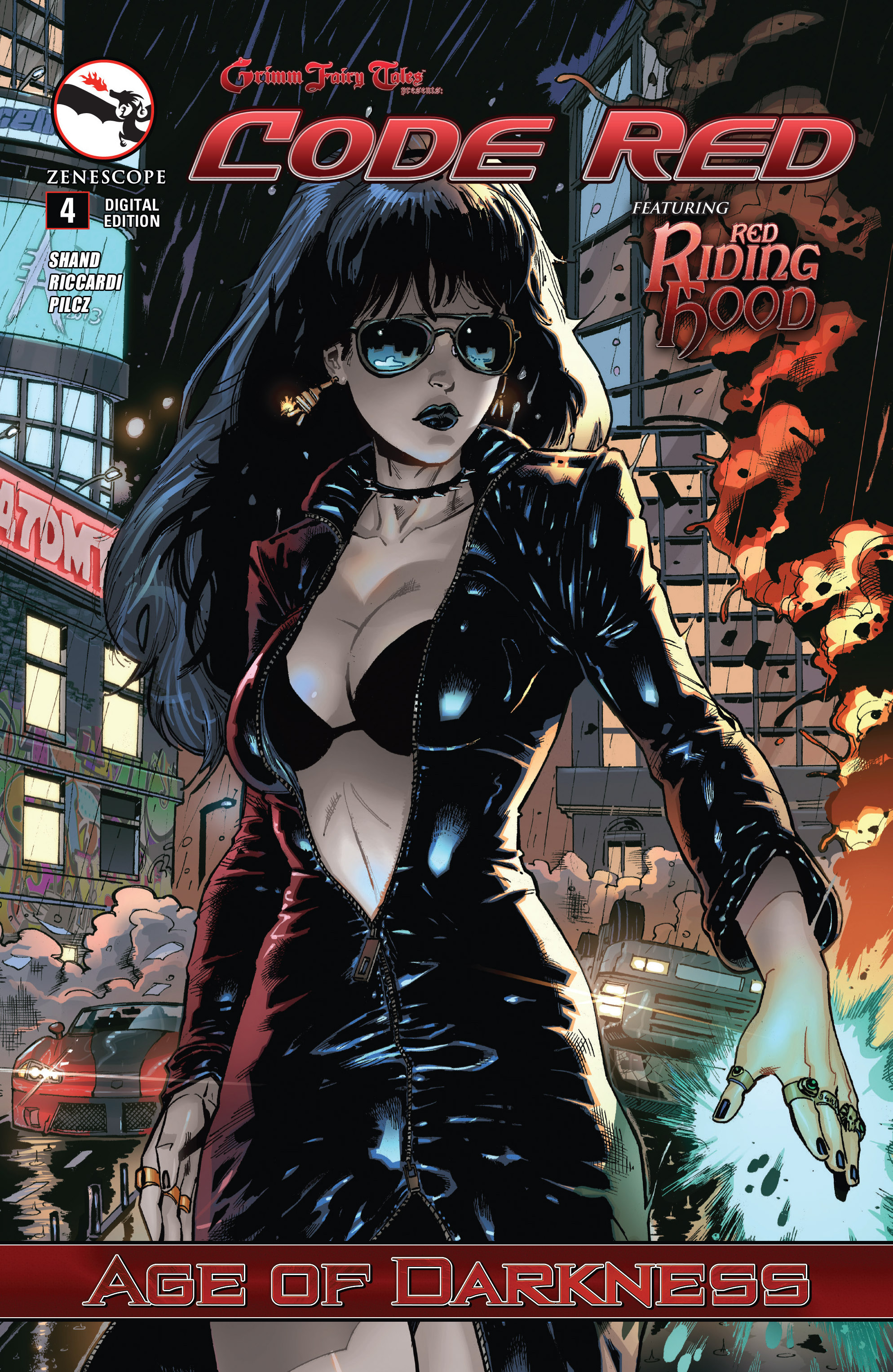 Read online Grimm Fairy Tales presents Code Red comic -  Issue # TPB - 77