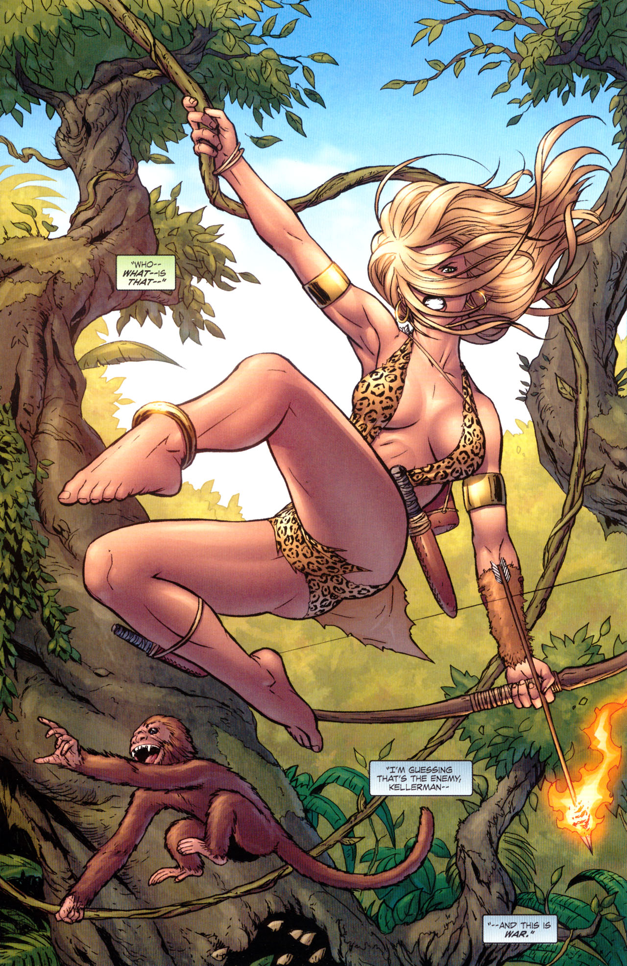Read online Sheena, Queen of the Jungle comic -  Issue #1 - 9