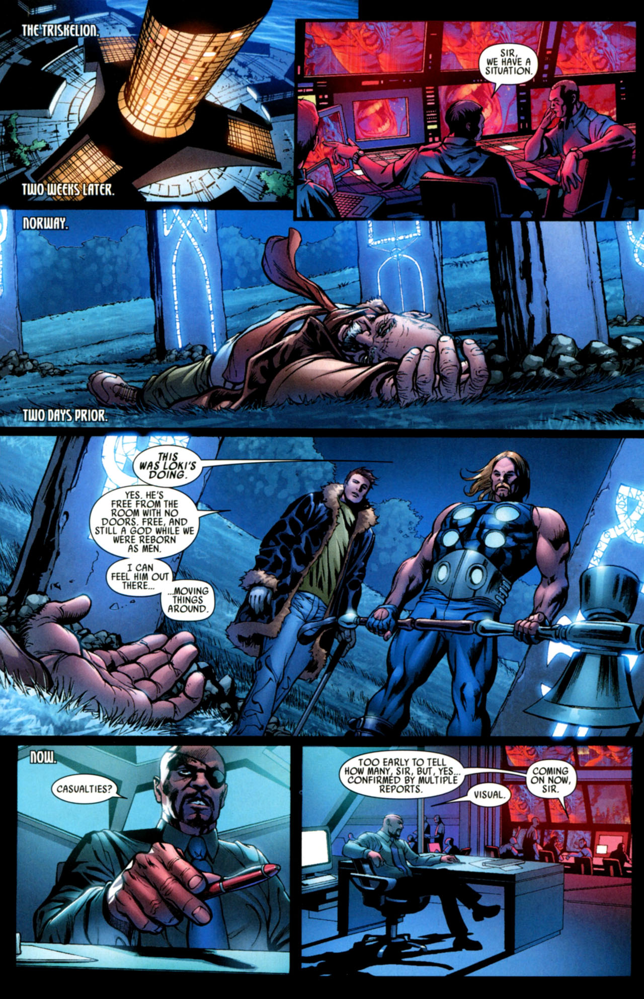 Read online Ultimate Thor comic -  Issue #4 - 19