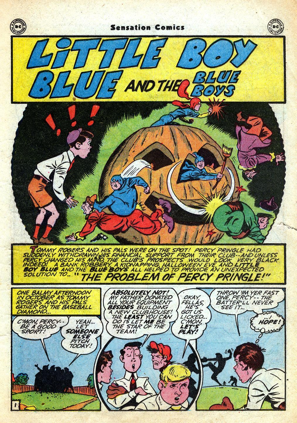 Read online Sensation (Mystery) Comics comic -  Issue #60 - 17
