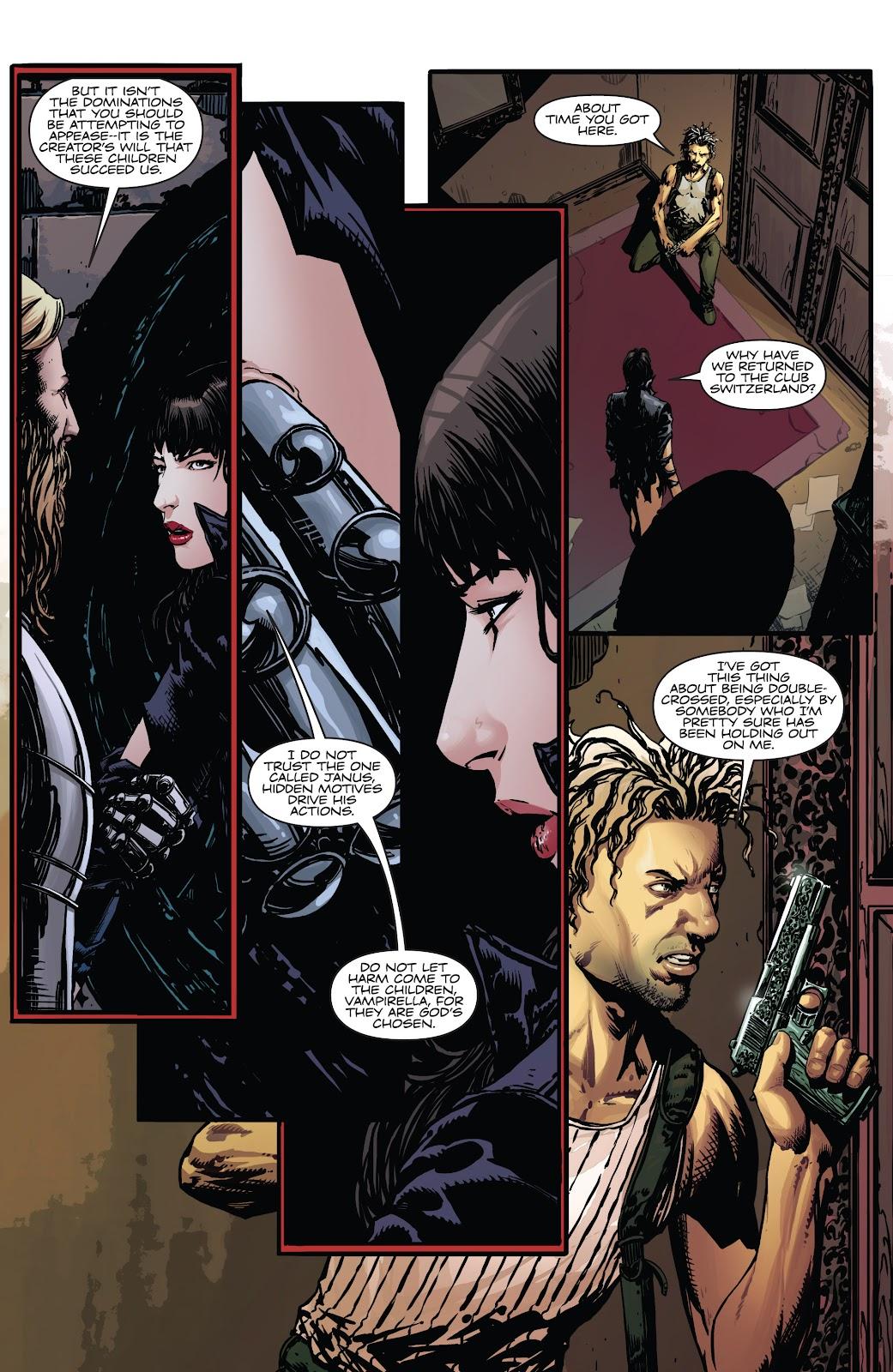 Read online Vampirella Strikes comic -  Issue #5 - 15