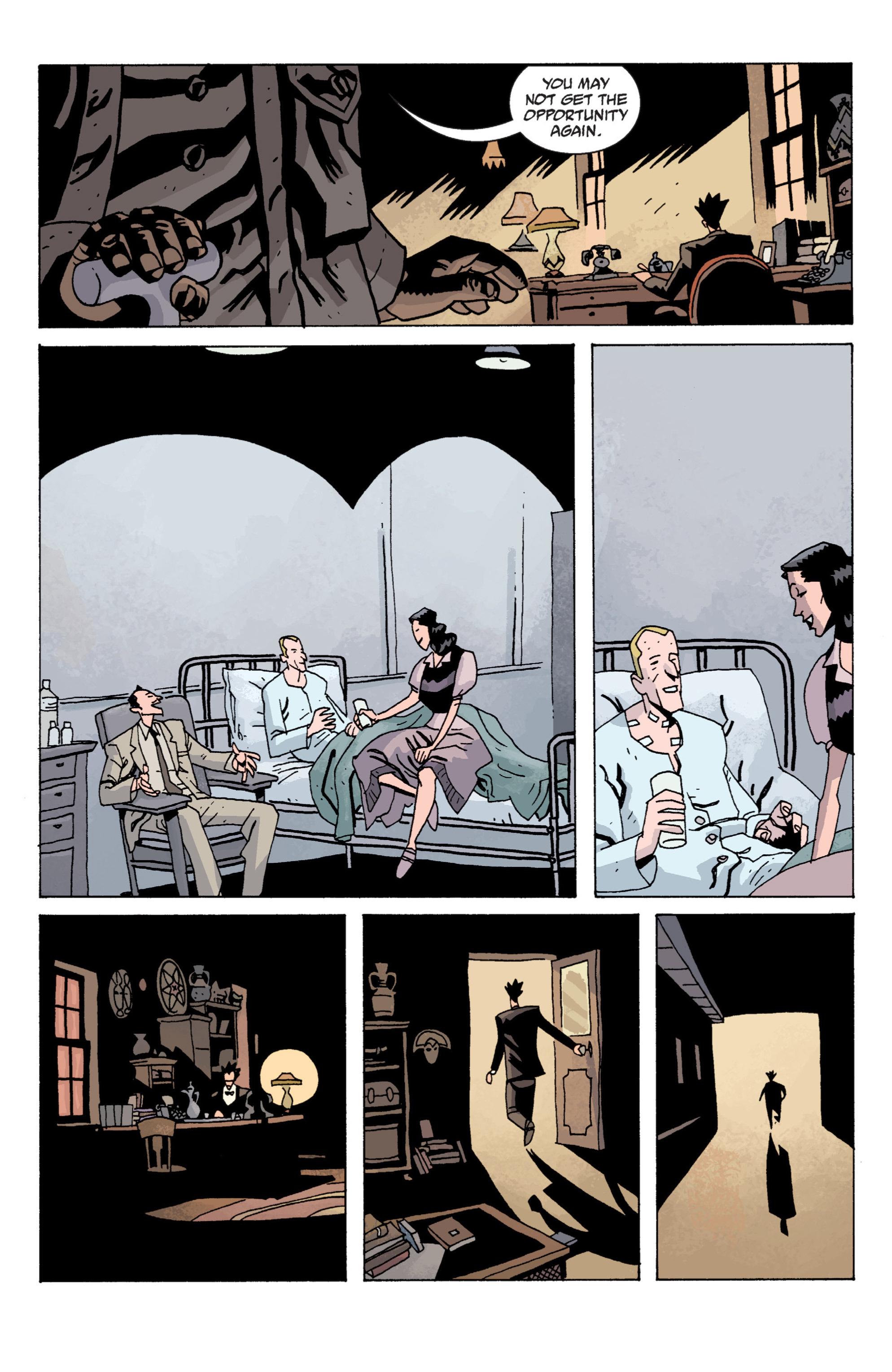 Read online B.P.R.D. (2003) comic -  Issue # TPB 13 - 134