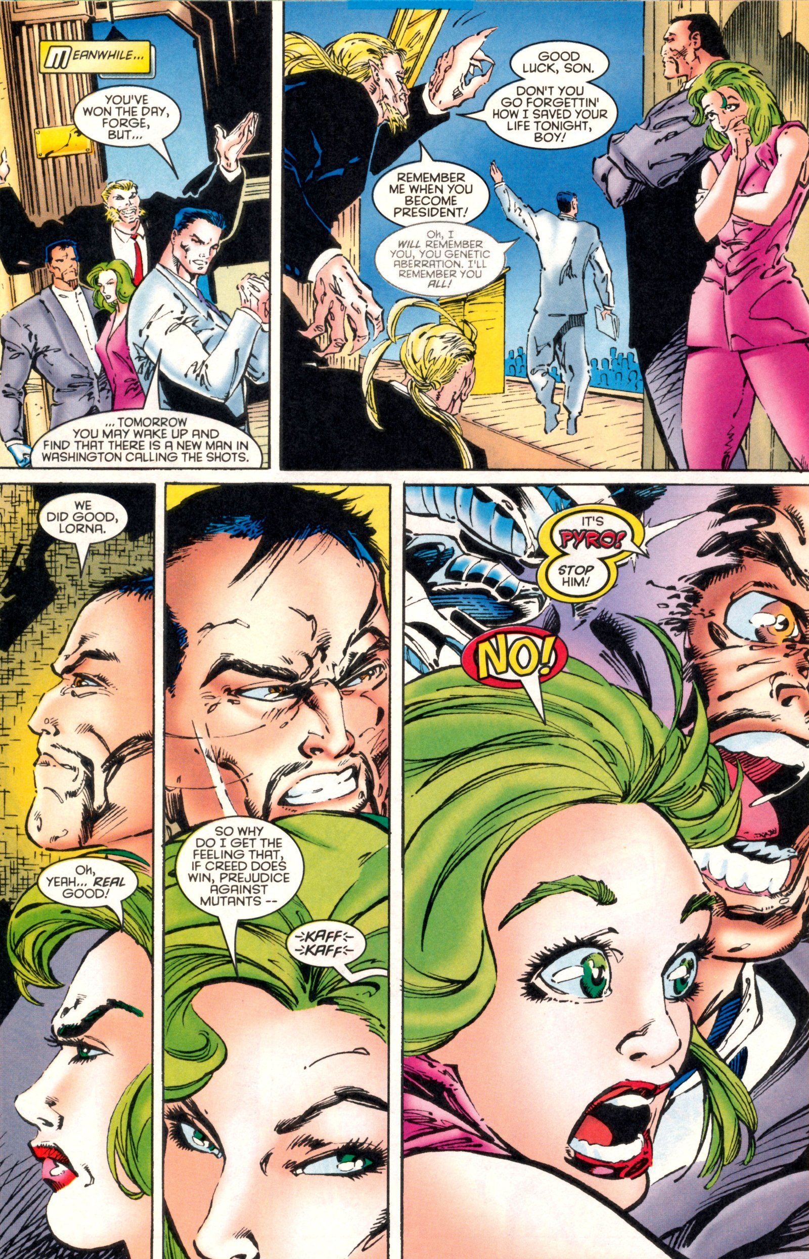 Read online X-Factor (1986) comic -  Issue #130 - 24