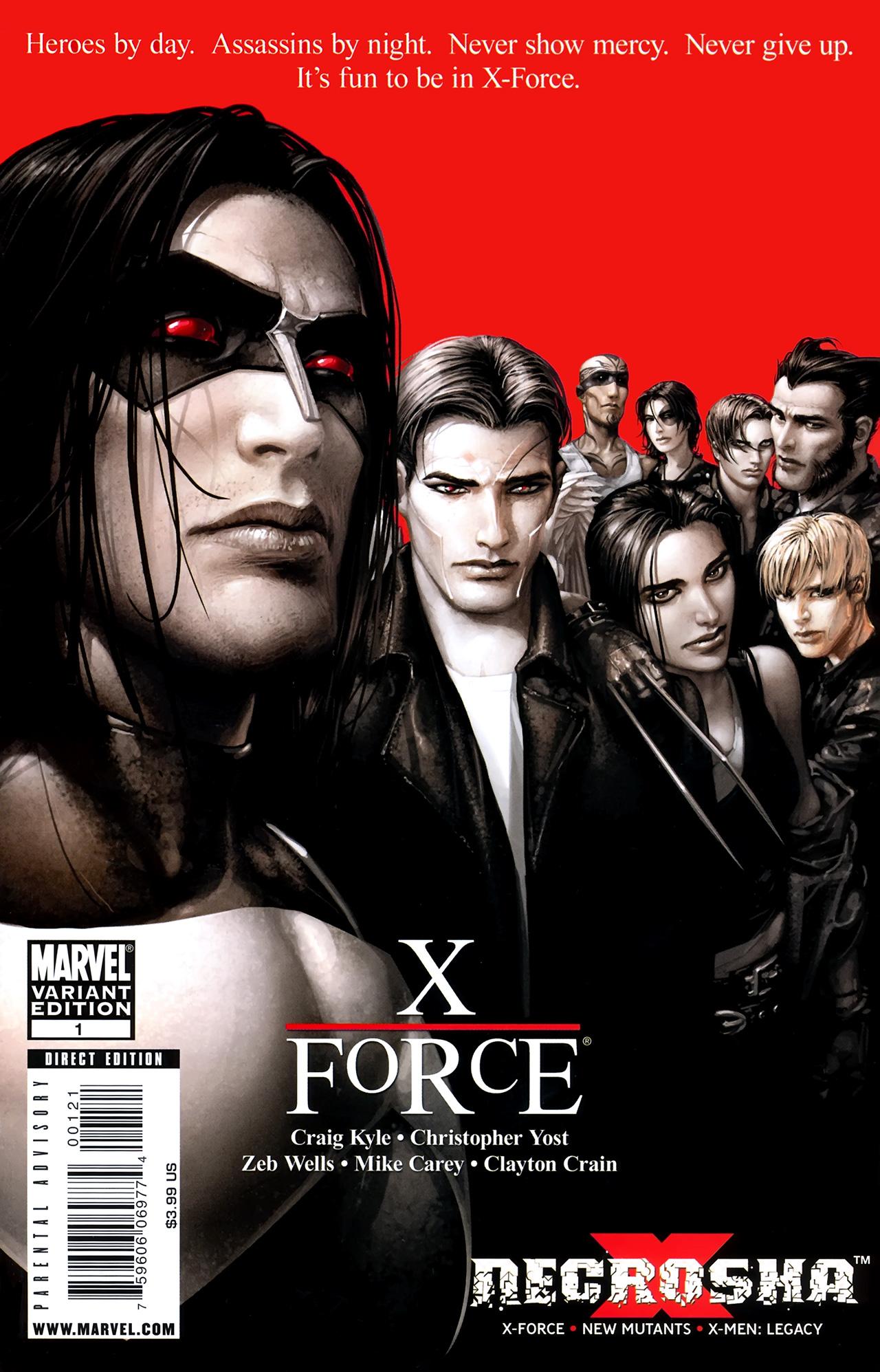 Read online X Necrosha comic -  Issue # Full - 3