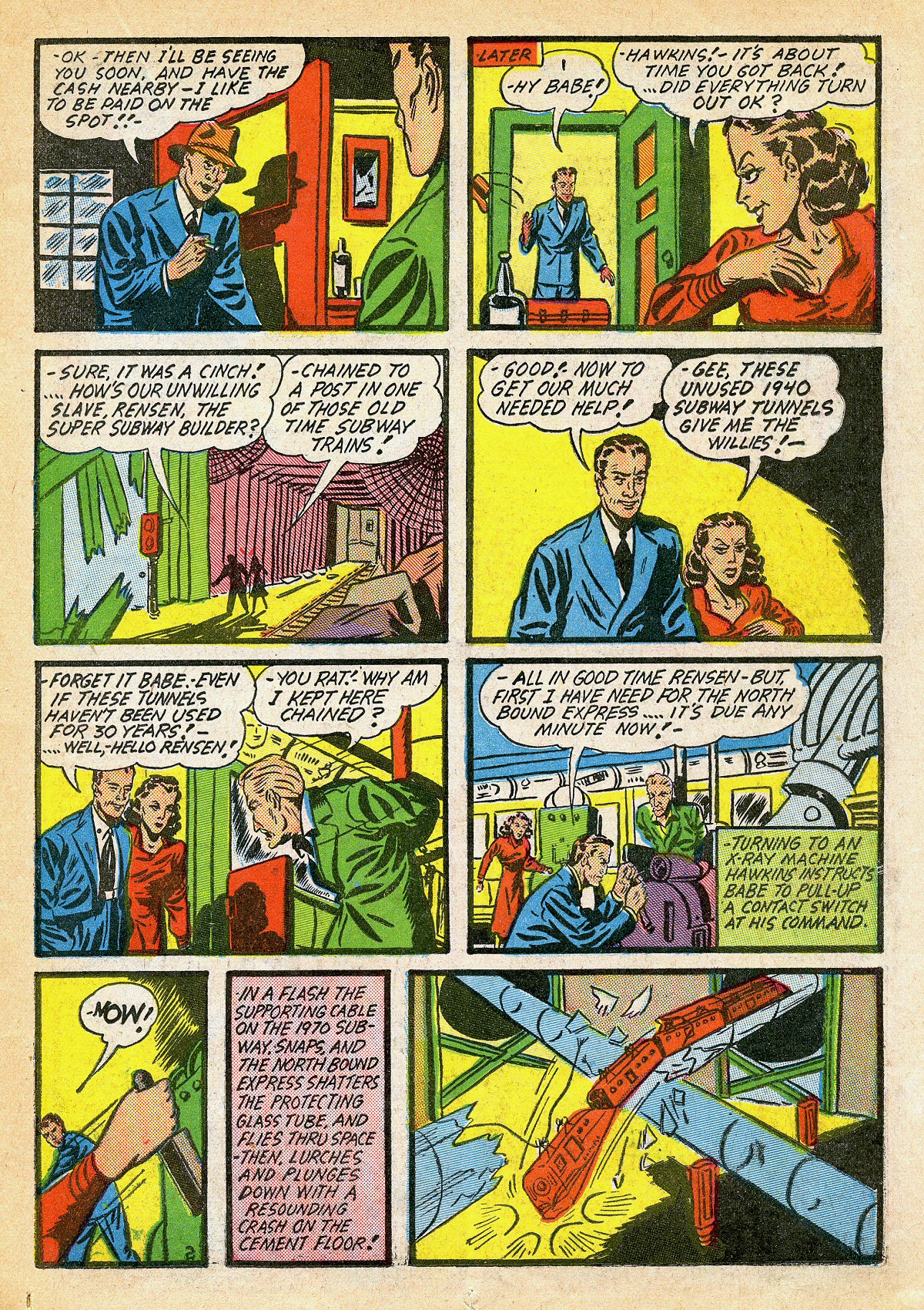 Read online Amazing Man Comics comic -  Issue #10 - 28