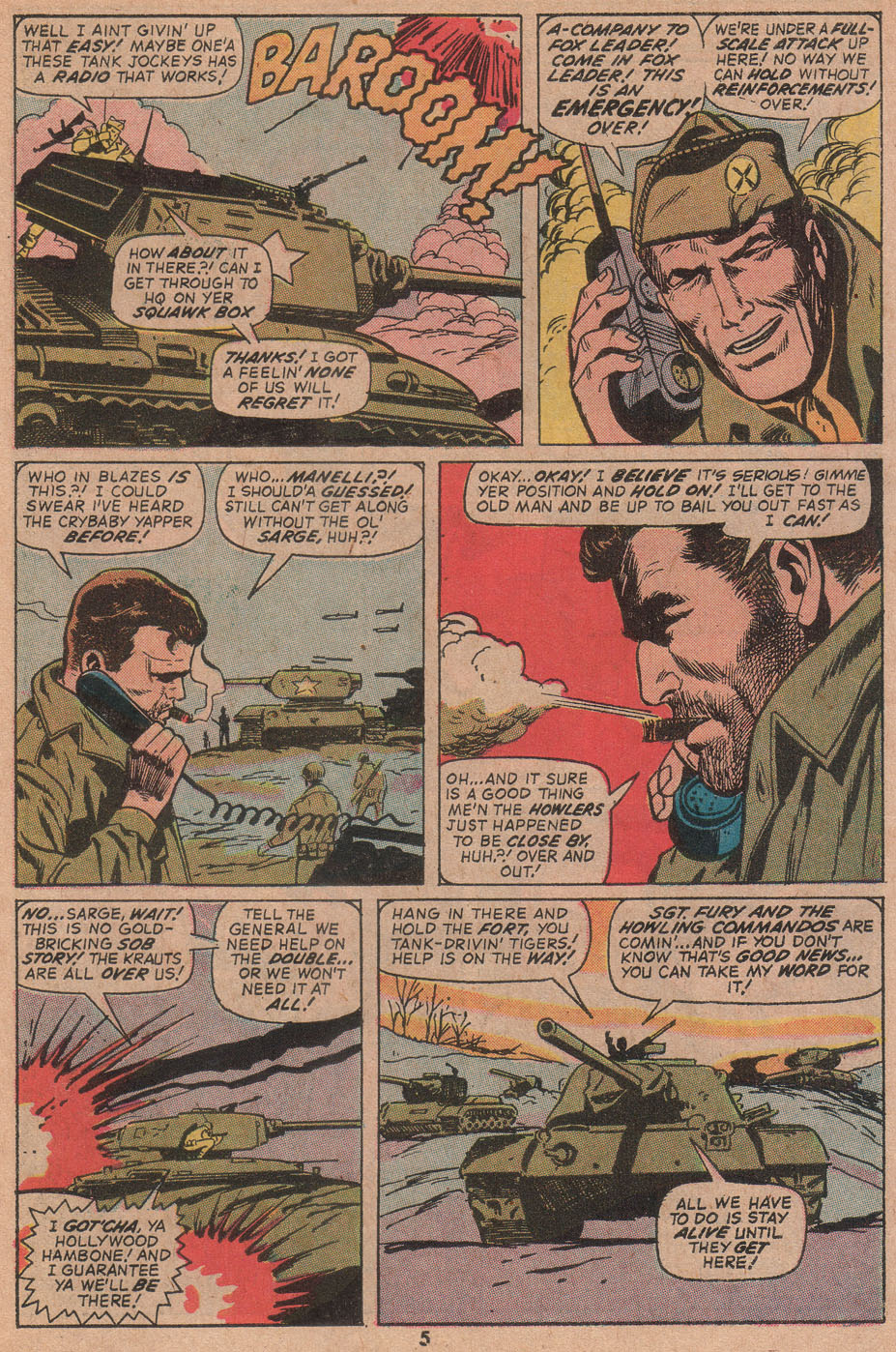 Read online Sgt. Fury comic -  Issue #104 - 7