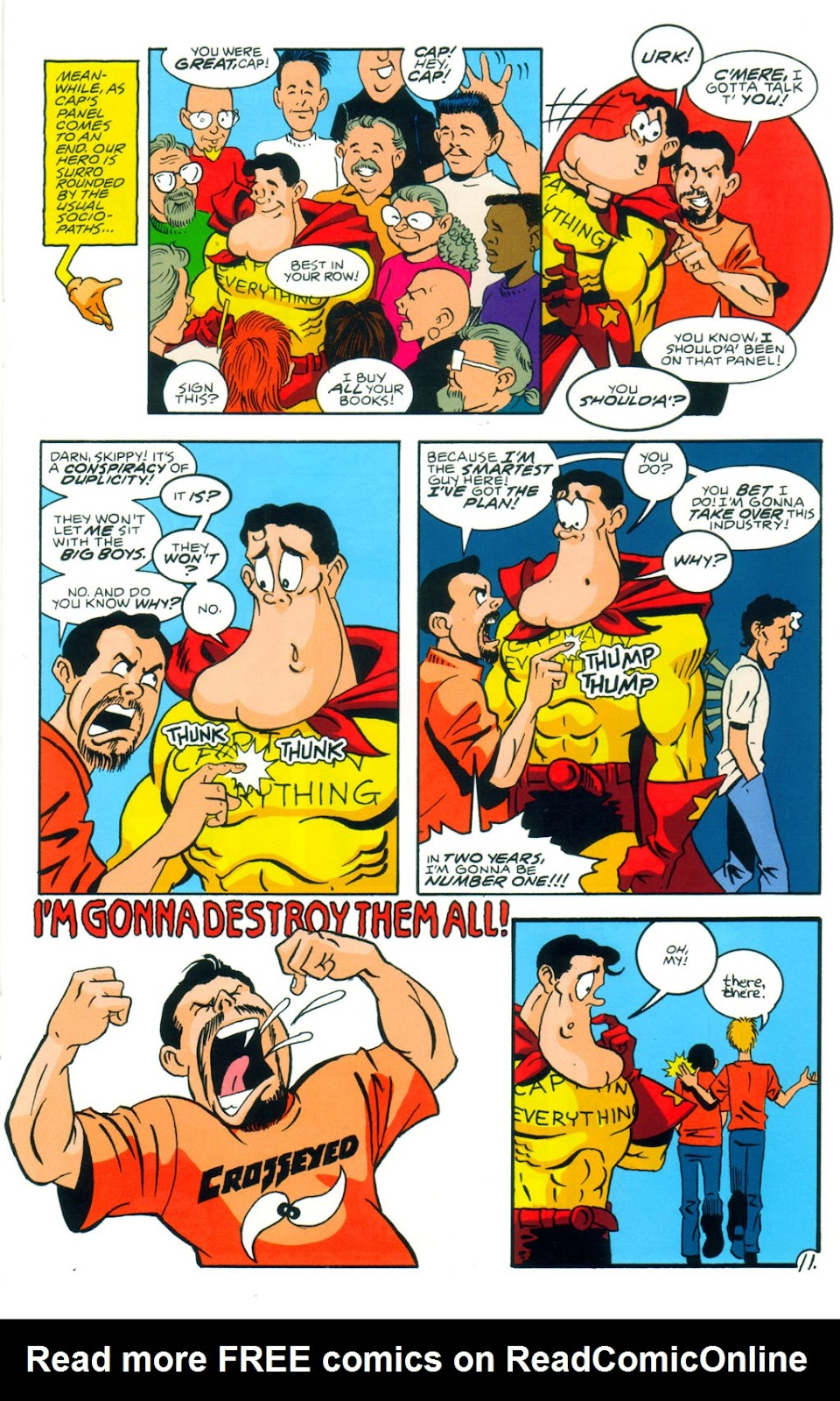 Read online Normalman 20th Anniversary Special comic -  Issue # Full - 13