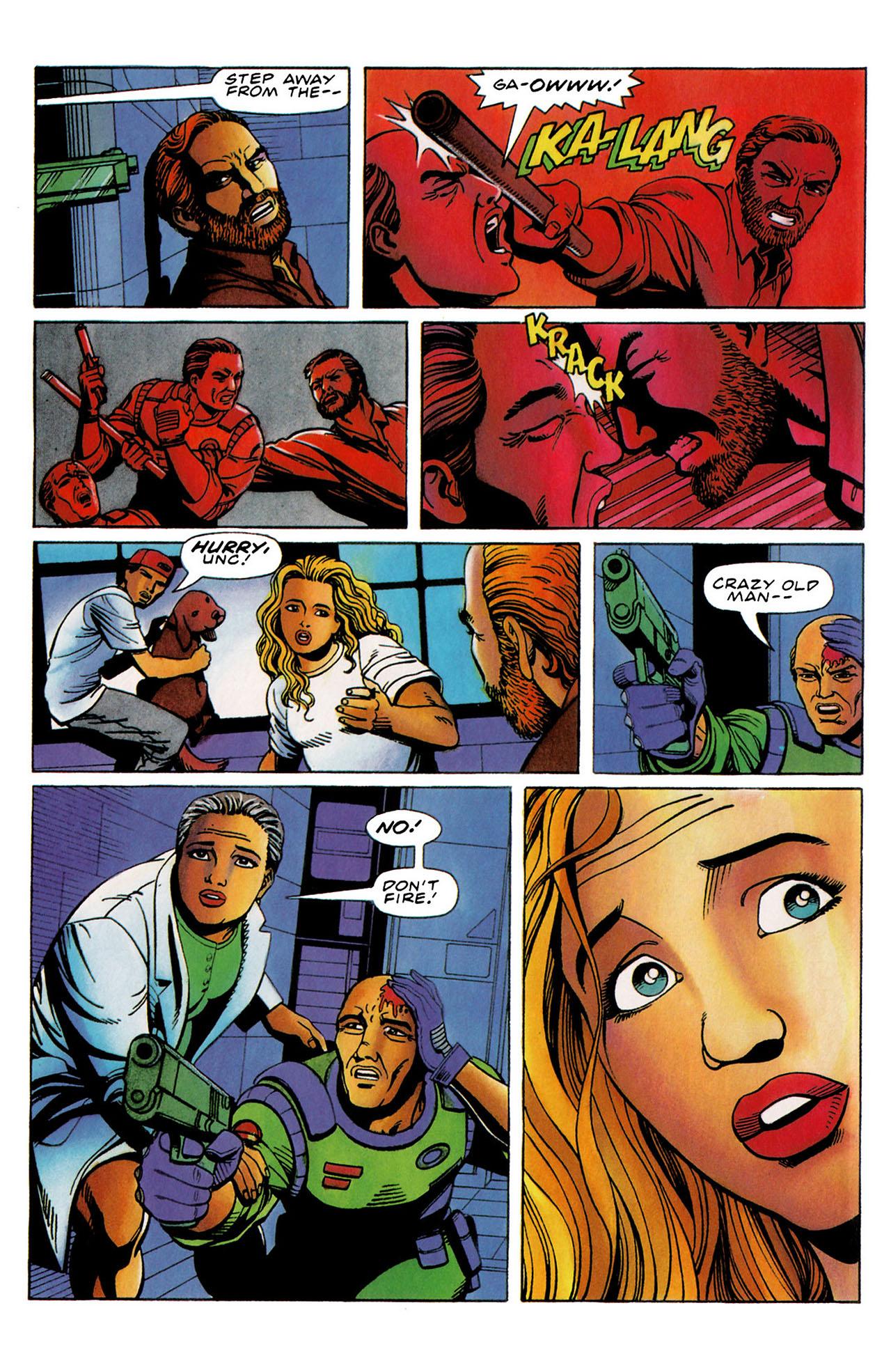 Read online Harbinger (1992) comic -  Issue #35 - 20