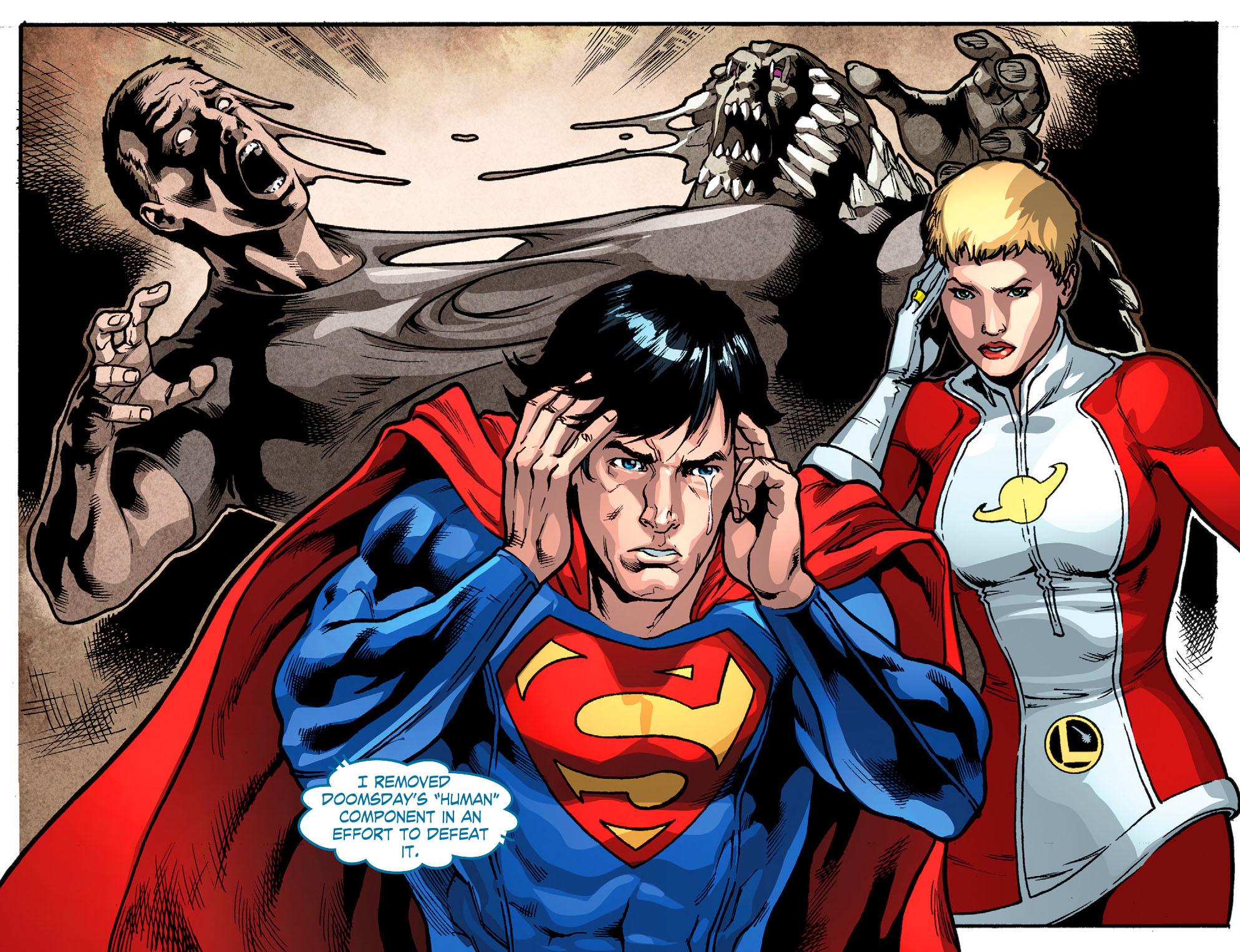 Read online Smallville: Season 11 comic -  Issue #52 - 12