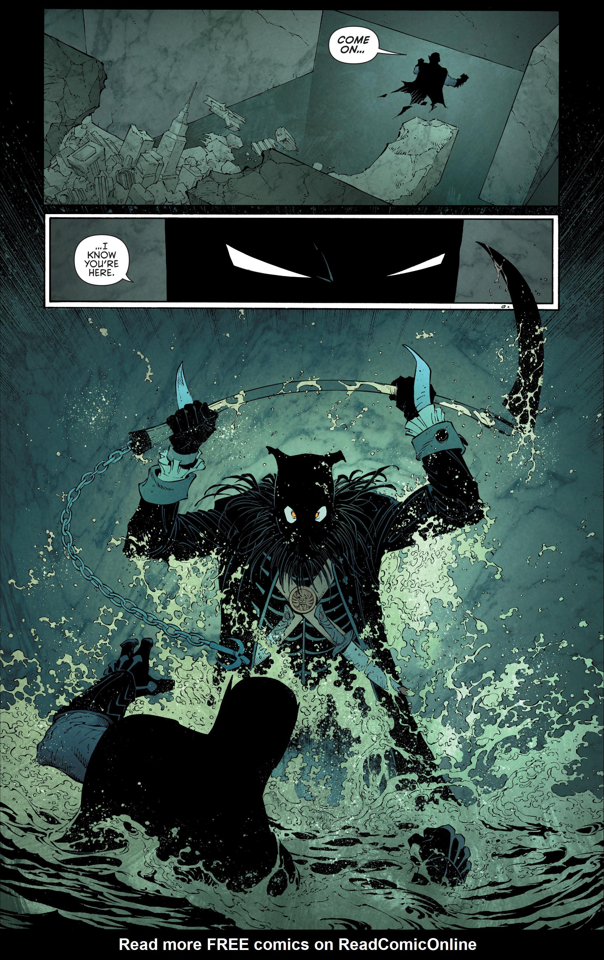 Read online Batman (2011) comic -  Issue # _TPB 7 - 107