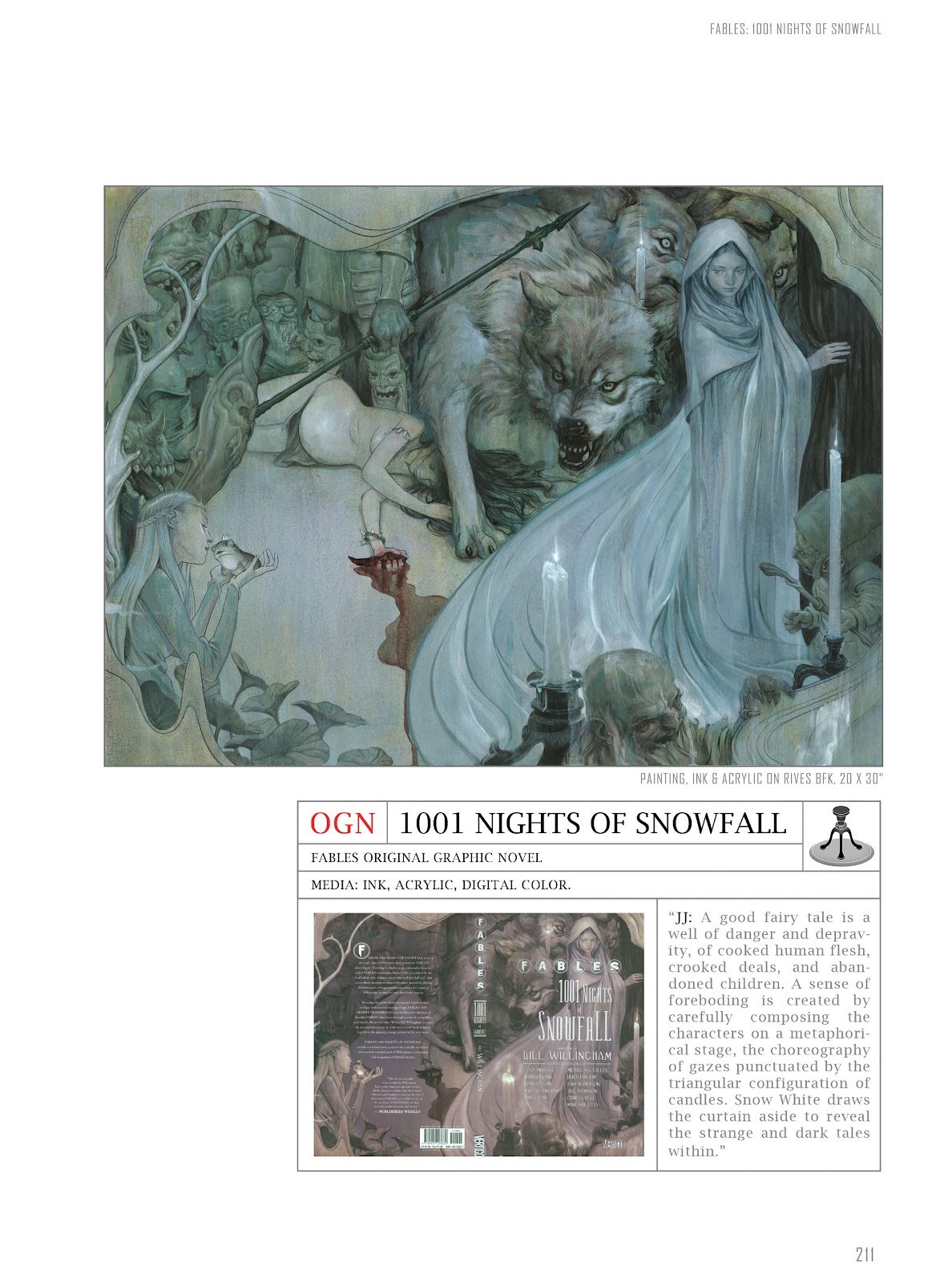 Fables: Covers by James Jean issue TPB (Part 3) - Page 1