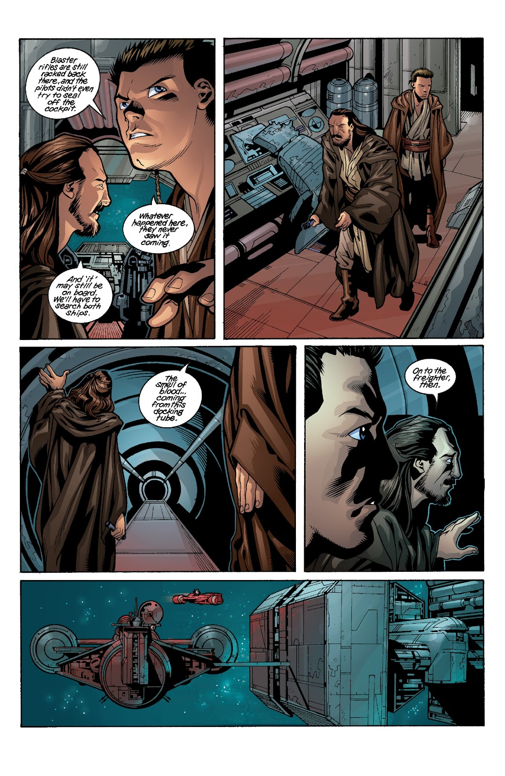 Read online Star Wars Legends: Rise of the Sith - Epic Collection comic -  Issue # TPB 1 (Part 3) - 84