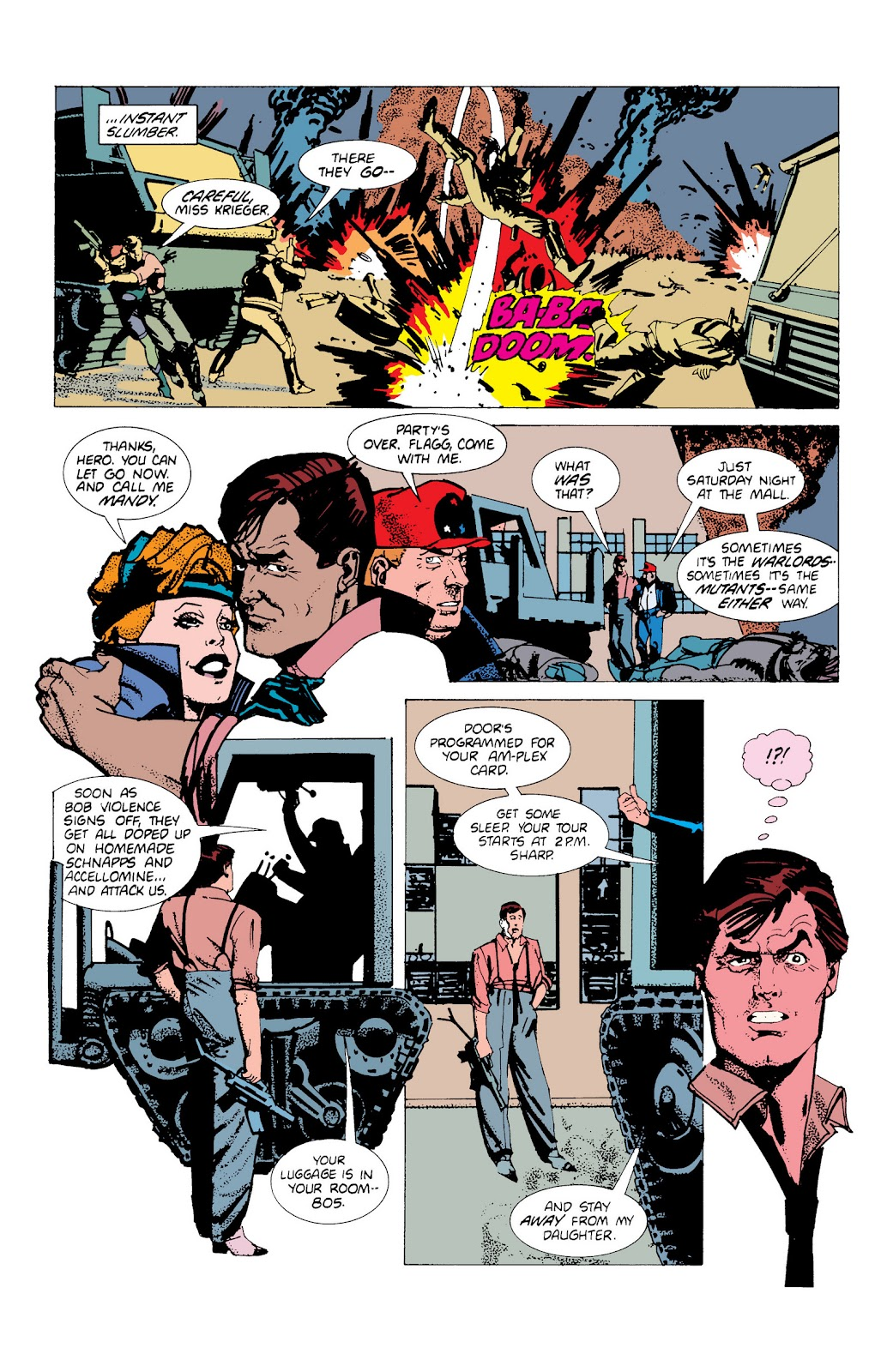 American Flagg! issue Definitive Collection (Part 1) - Page 30