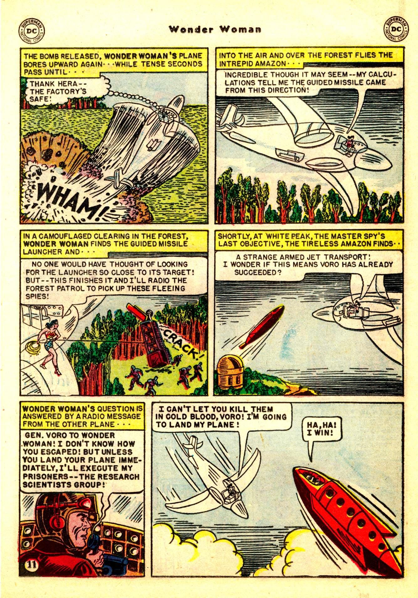 Read online Wonder Woman (1942) comic -  Issue #50 - 13