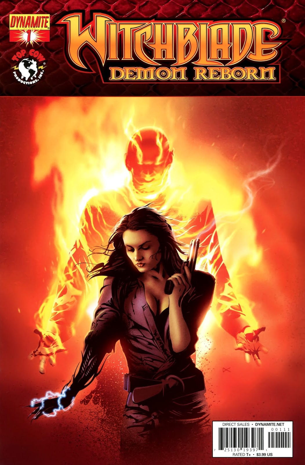 Witchblade: Demon Reborn 1 Page 1