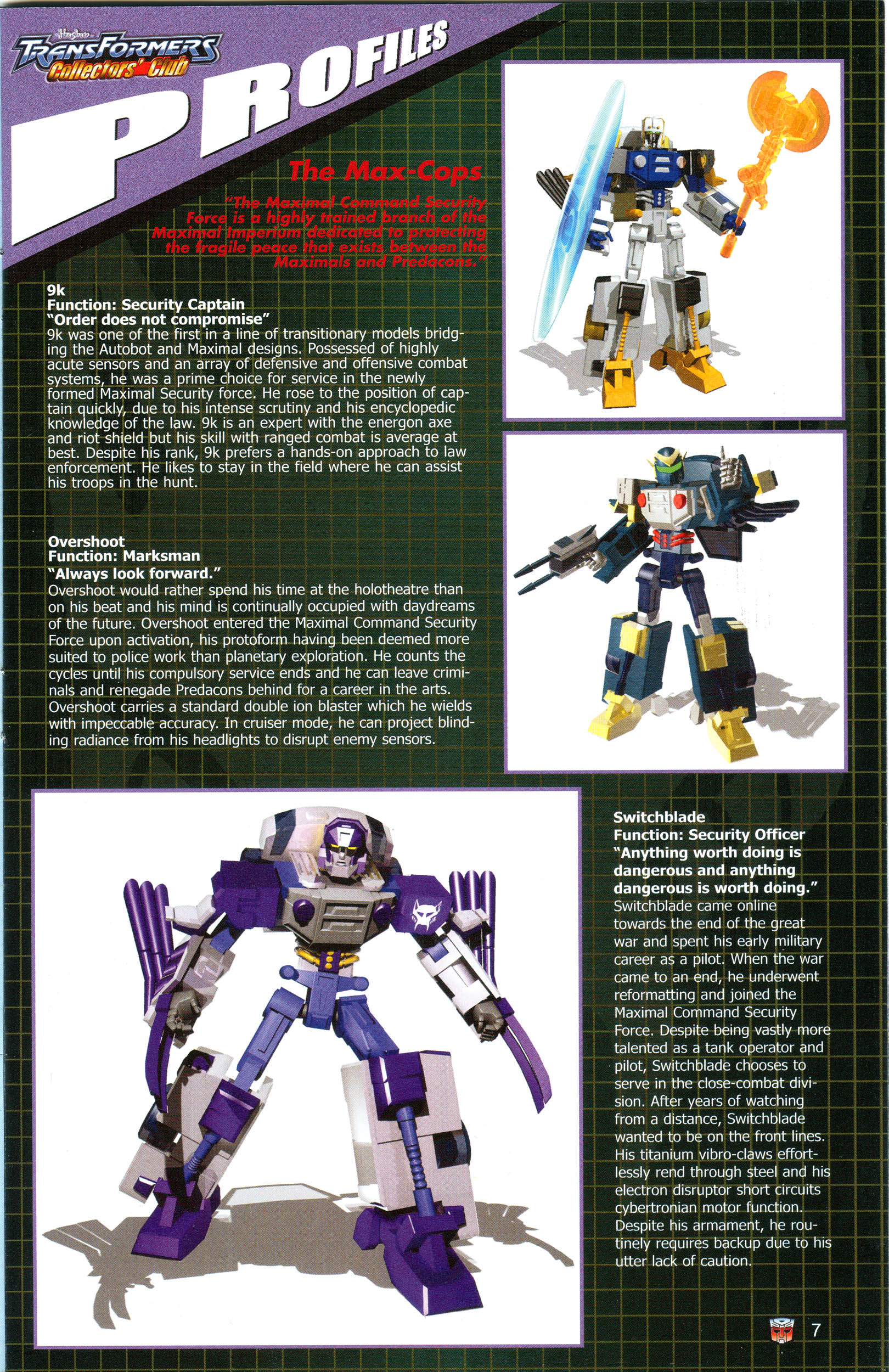 Read online Transformers: Collectors' Club comic -  Issue #13 - 7