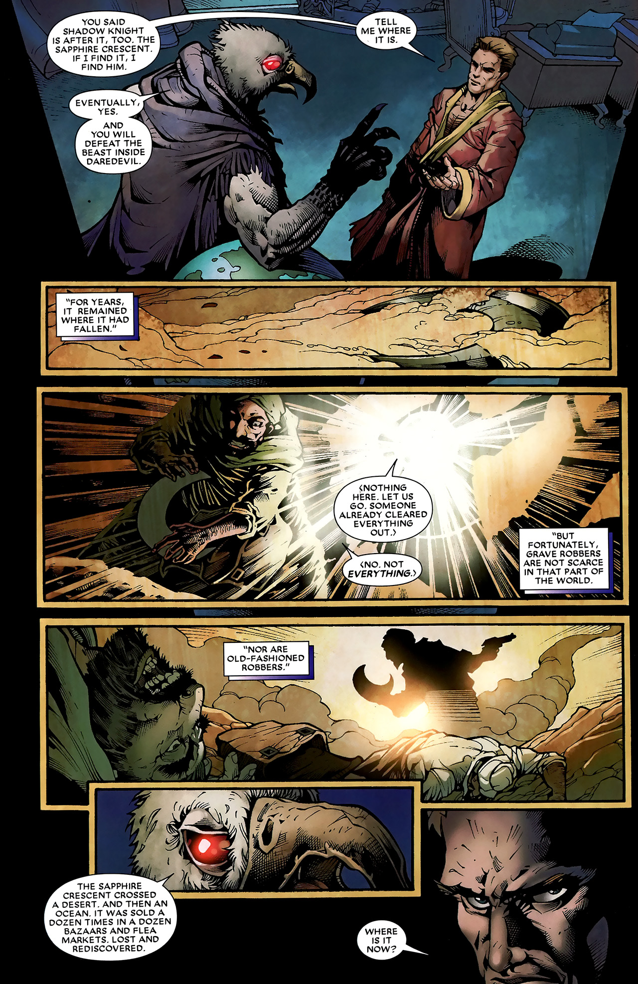 Read online Shadowland: Moon Knight comic -  Issue #3 - 9