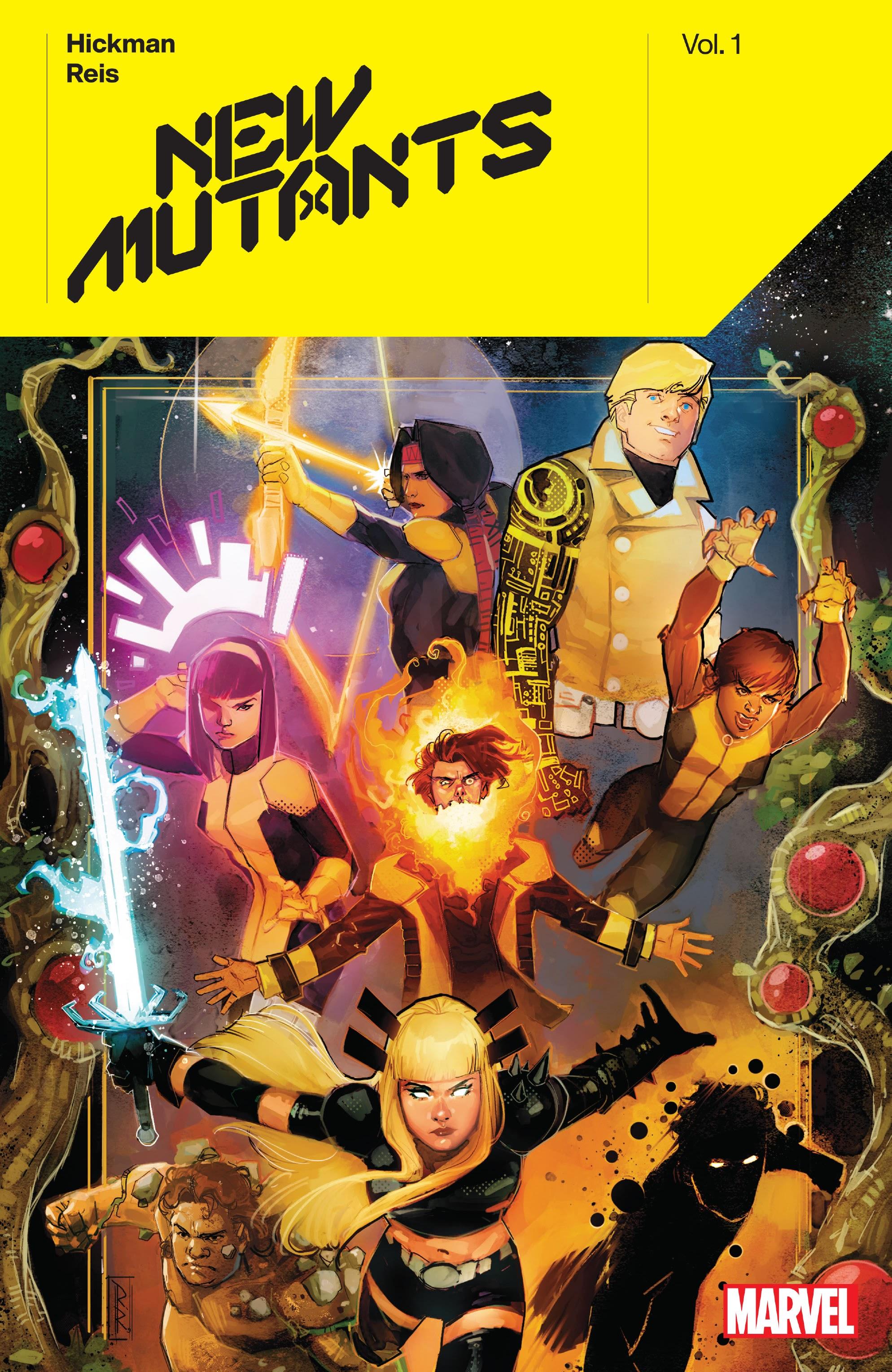 New Mutants (2019) TPB New Mutants by Jonathan Hickman Page 1