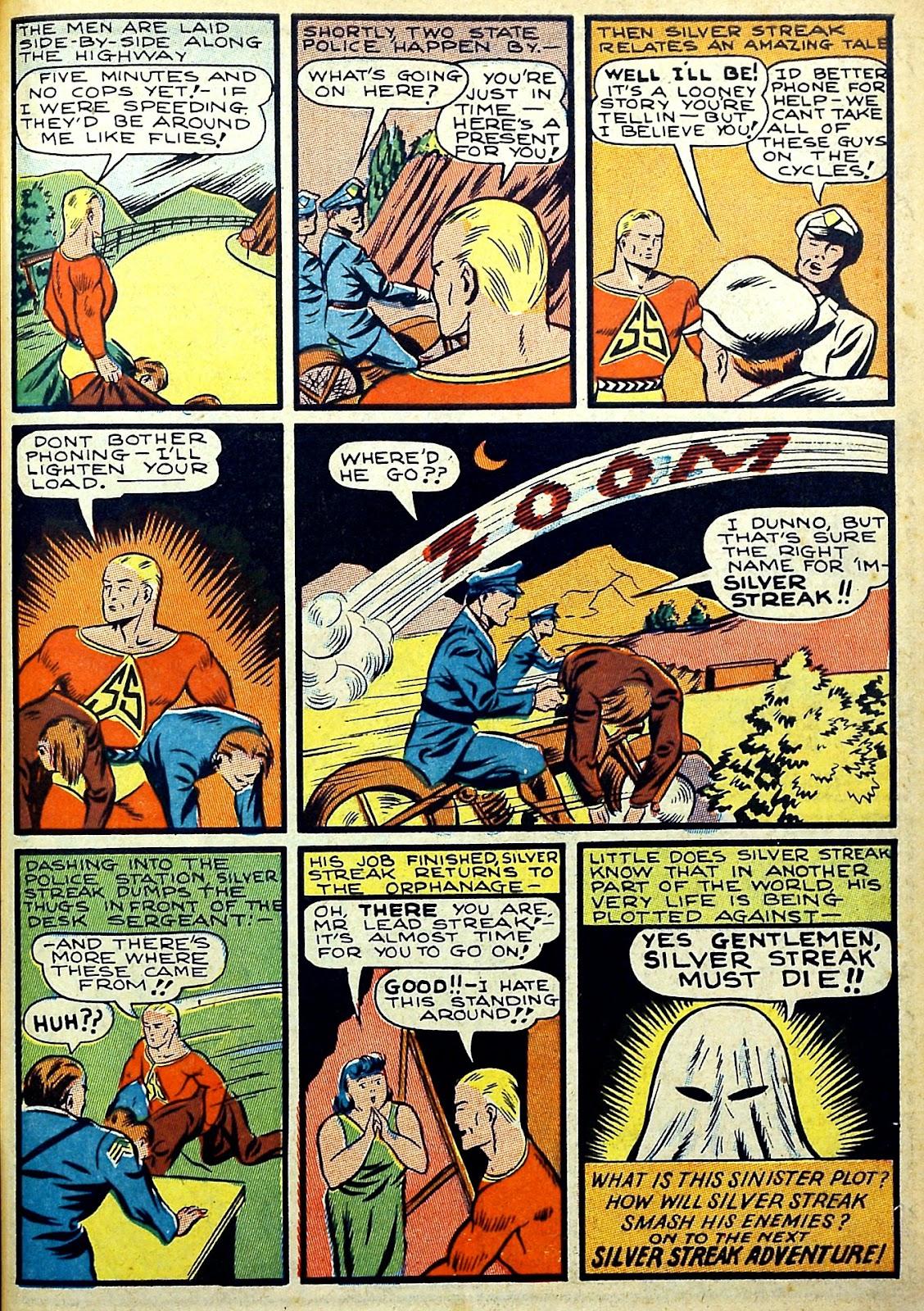 Read online Silver Streak Comics comic -  Issue #22 - 13