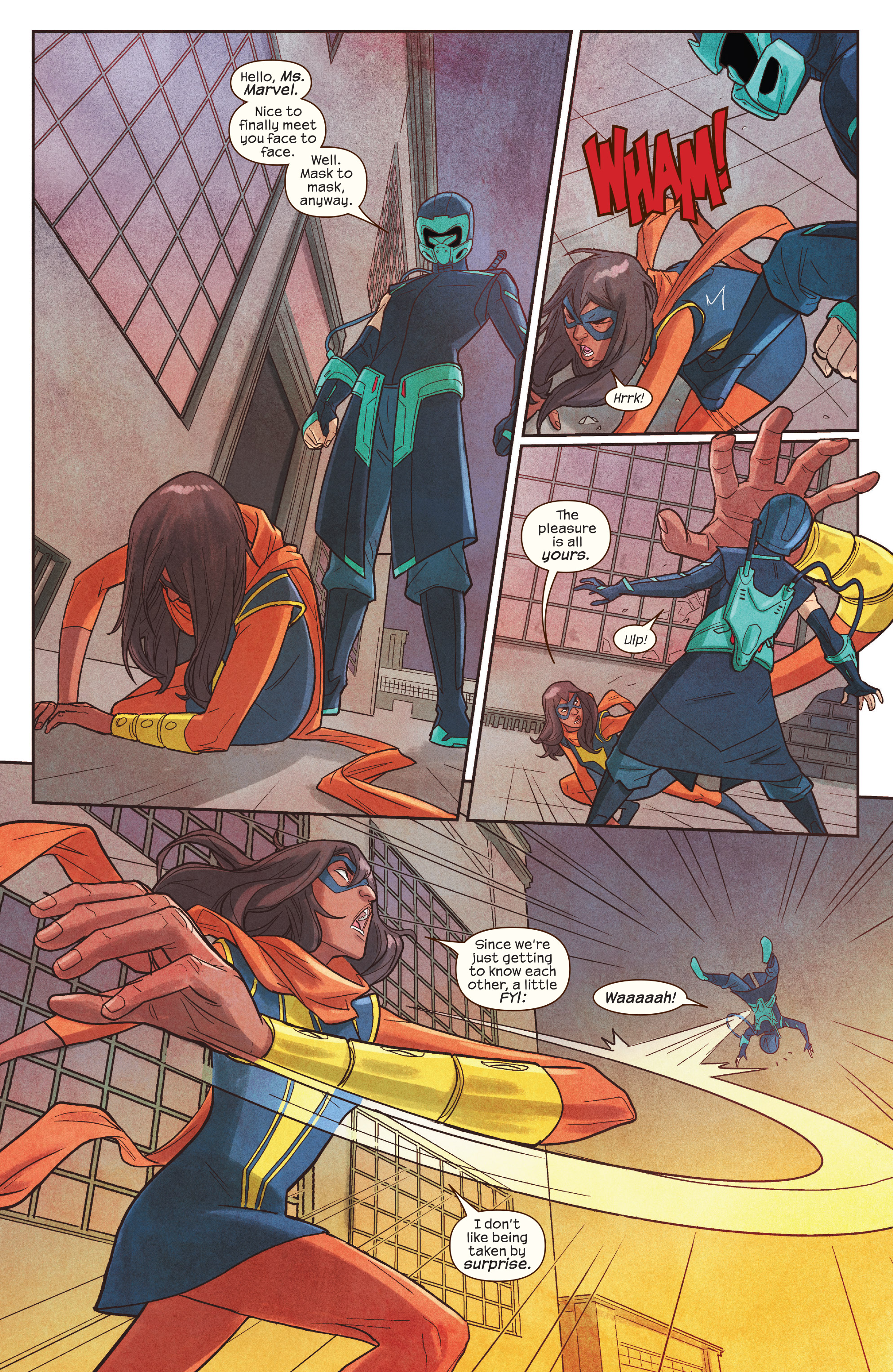 Read online Ms. Marvel (2016) comic -  Issue #19 - 14