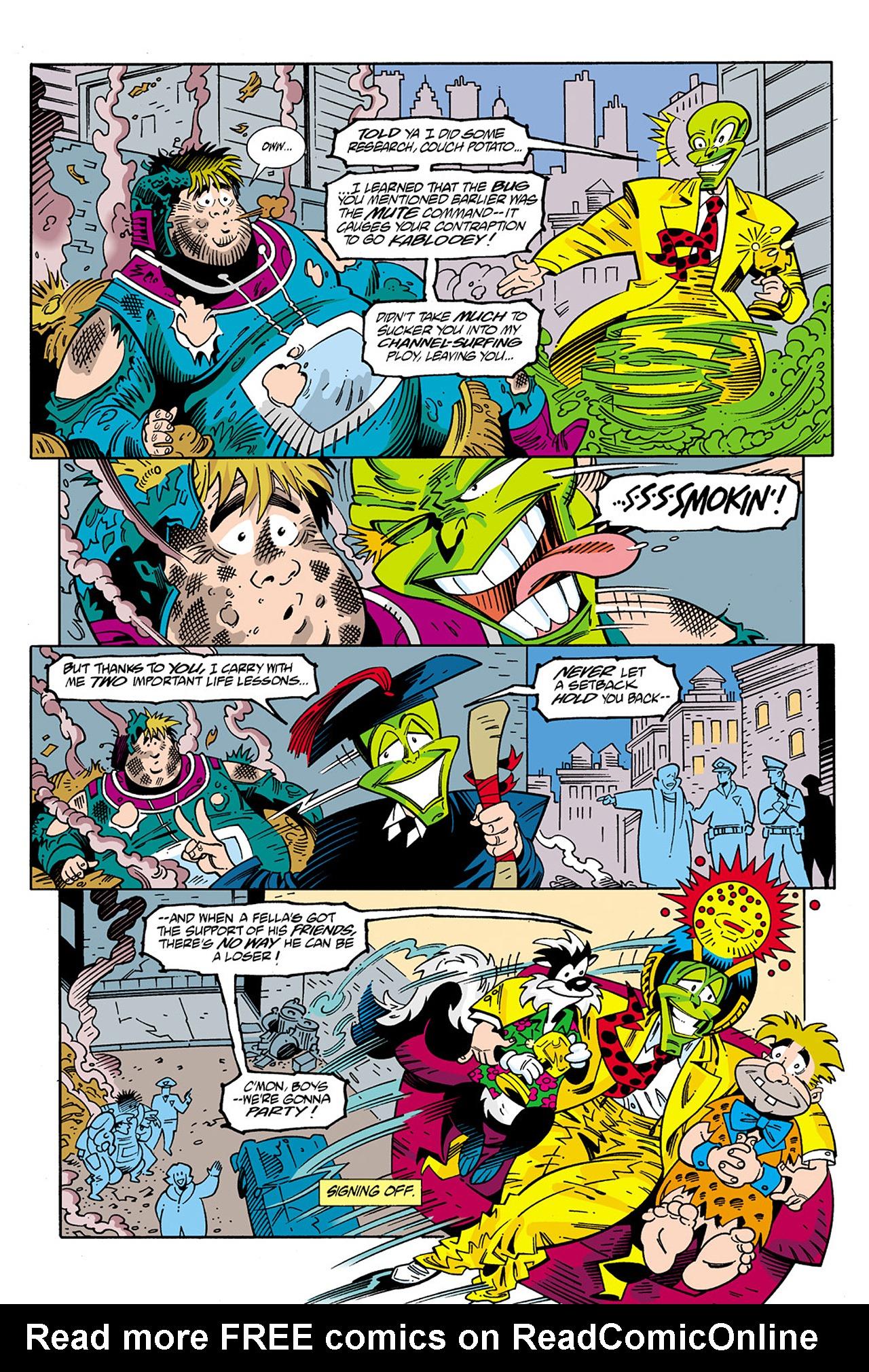 Read online Adventures Of The Mask Omnibus comic -  Issue #Adventures Of The Mask Omnibus Full - 229