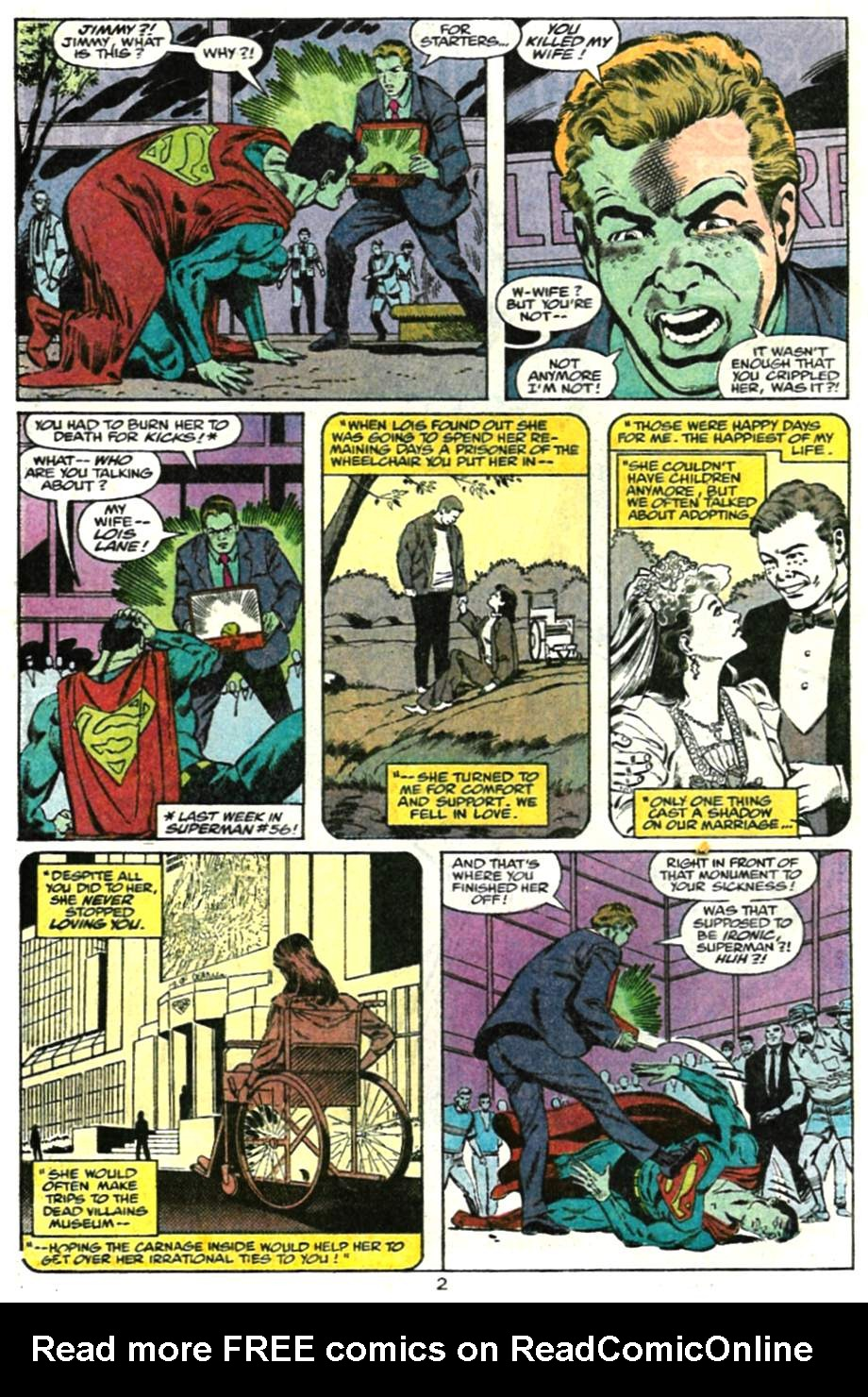 Read online Adventures of Superman (1987) comic -  Issue #479 - 3