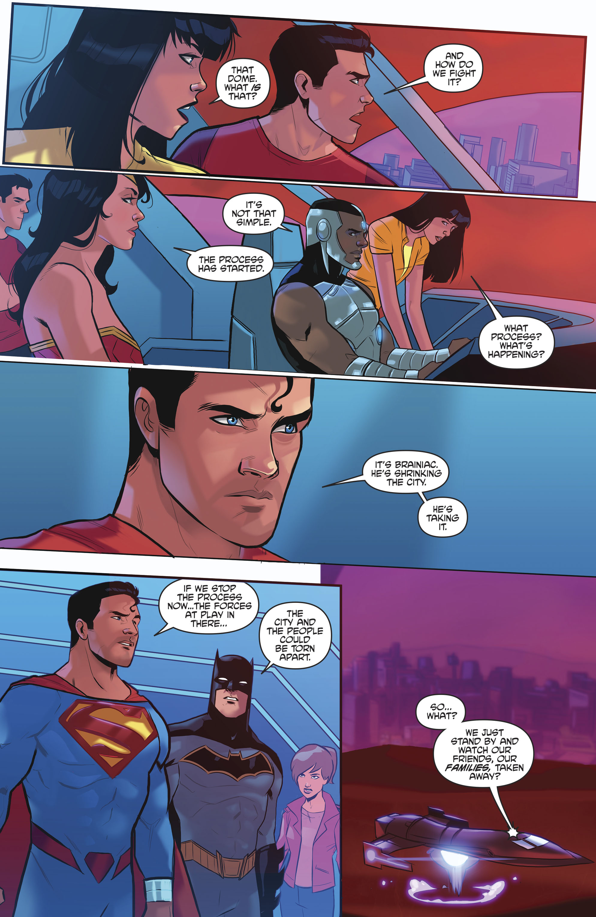 Read online Justice League/Mighty Morphin' Power Rangers comic -  Issue #4 - 11