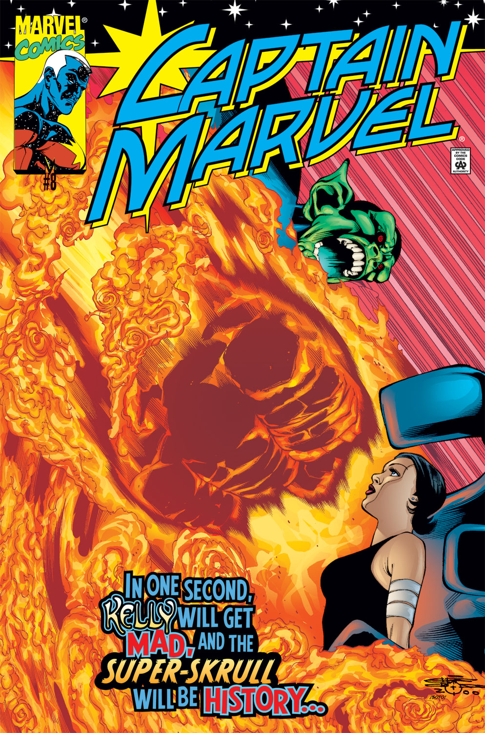 Captain Marvel (1999) 8 Page 1
