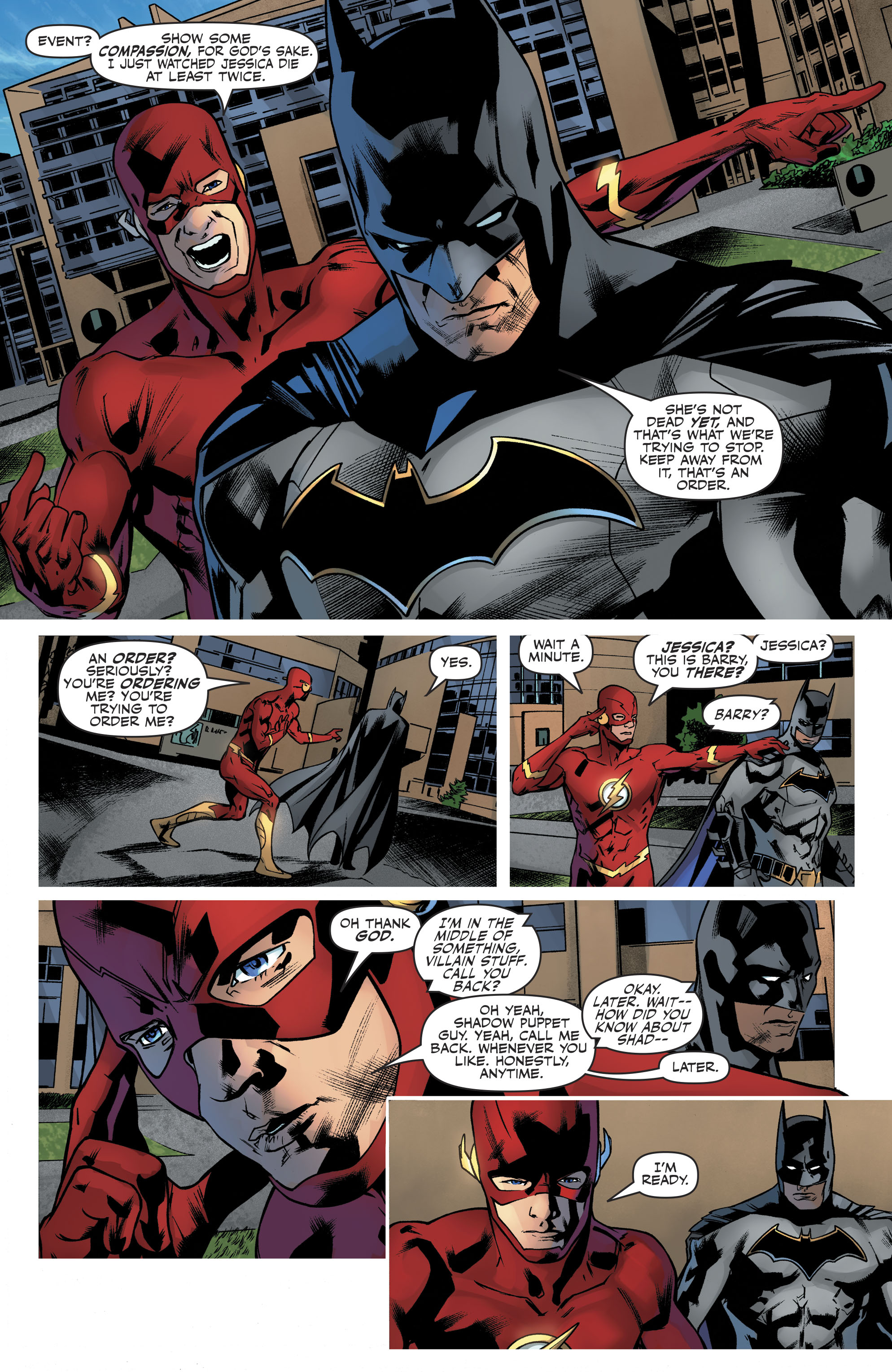Read online Justice League (2016) comic -  Issue #21 - 10