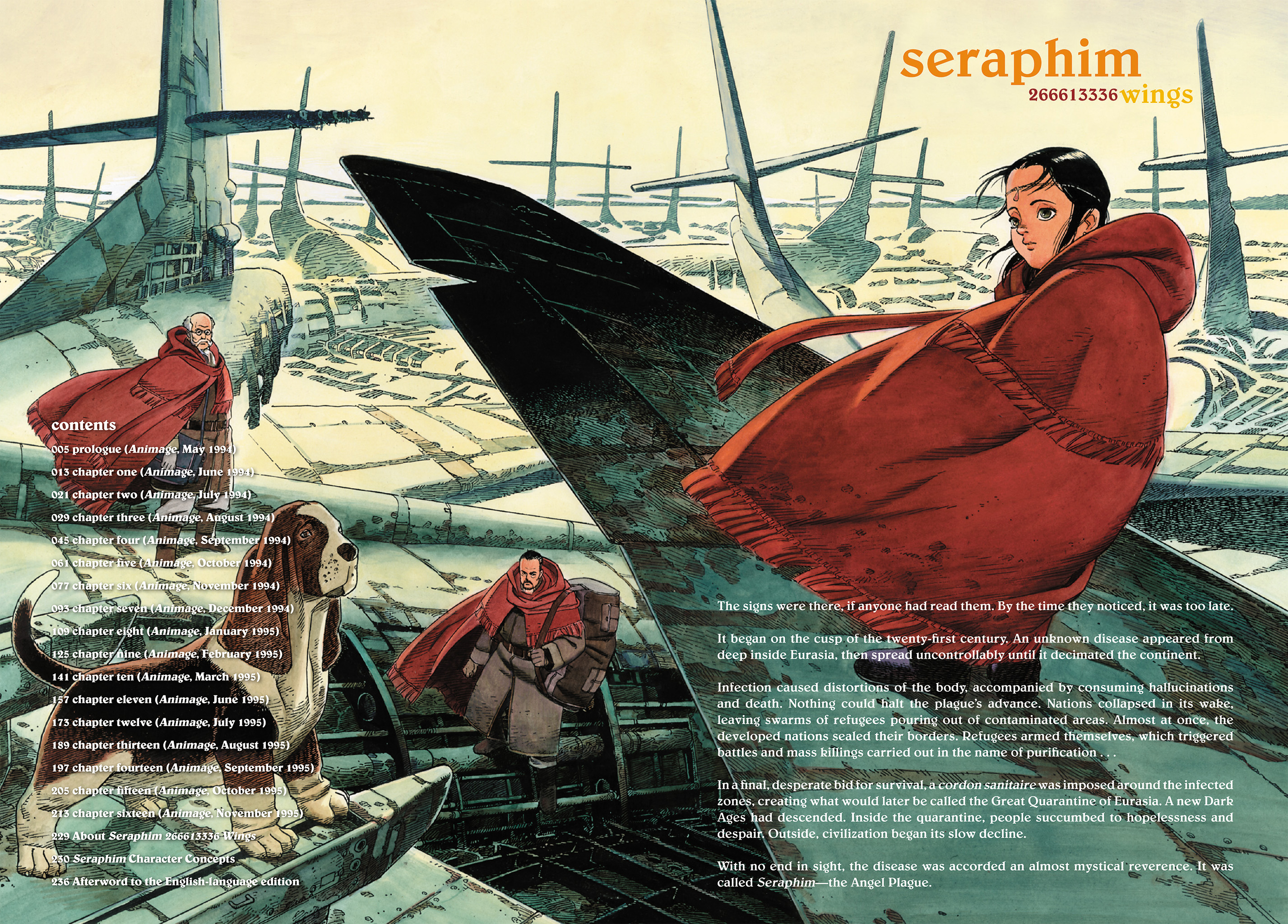 Read online Seraphim 266613336 Wings comic -  Issue # TPB - 3