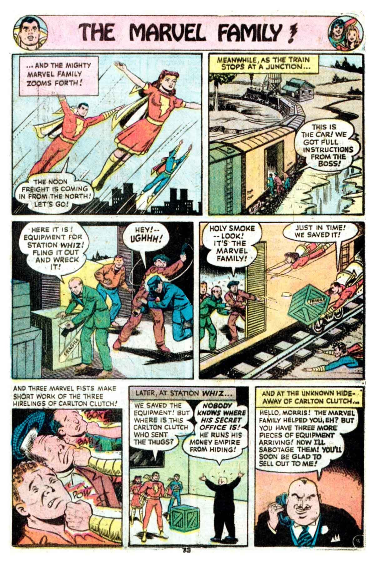 Read online Shazam! (1973) comic -  Issue #16 - 73
