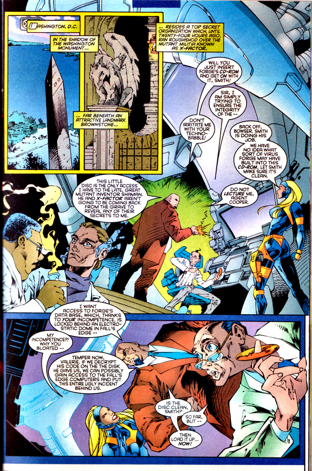 Read online X-Factor (1986) comic -  Issue #134 - 2