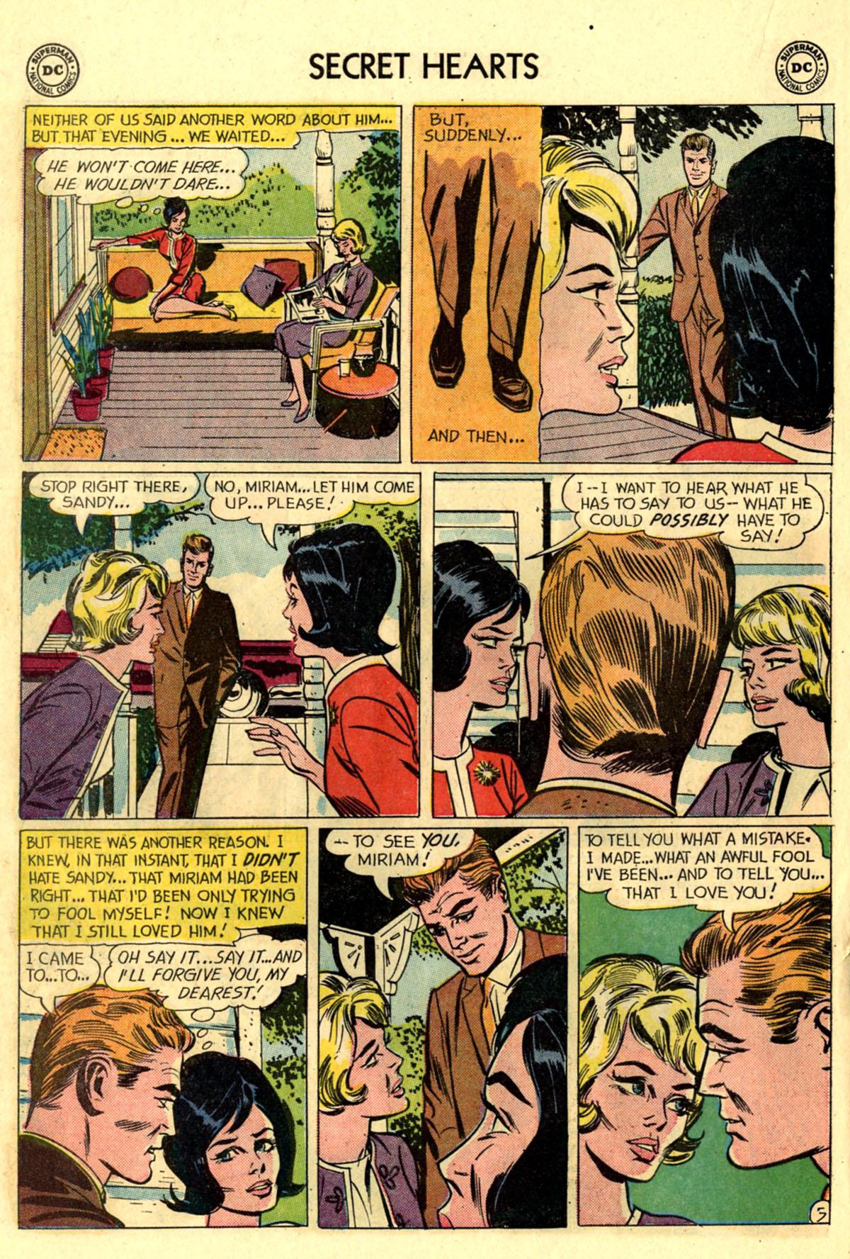 Read online Secret Hearts comic -  Issue #83 - 22
