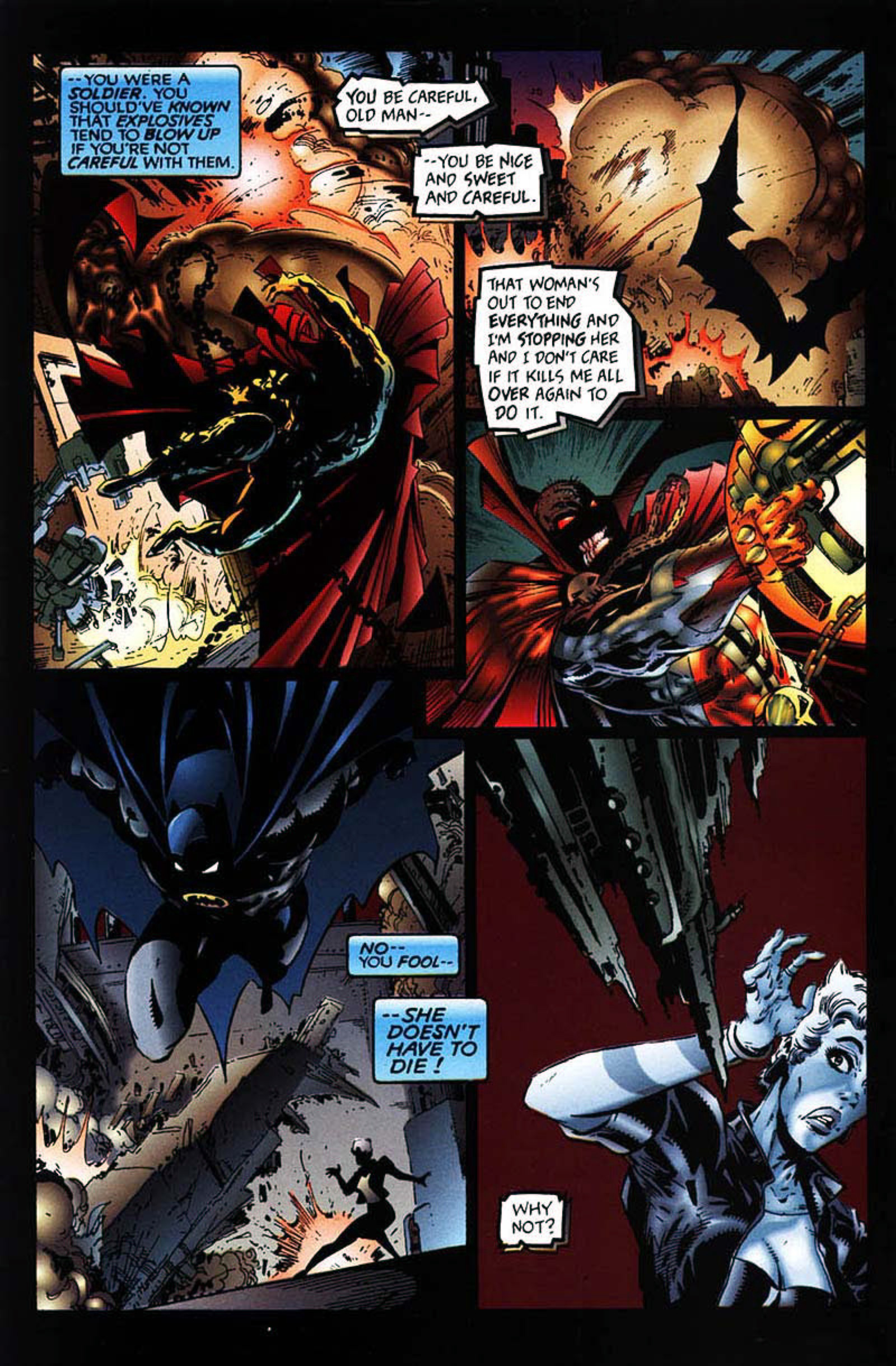 Read online Spawn-Batman comic -  Issue # Full - 50