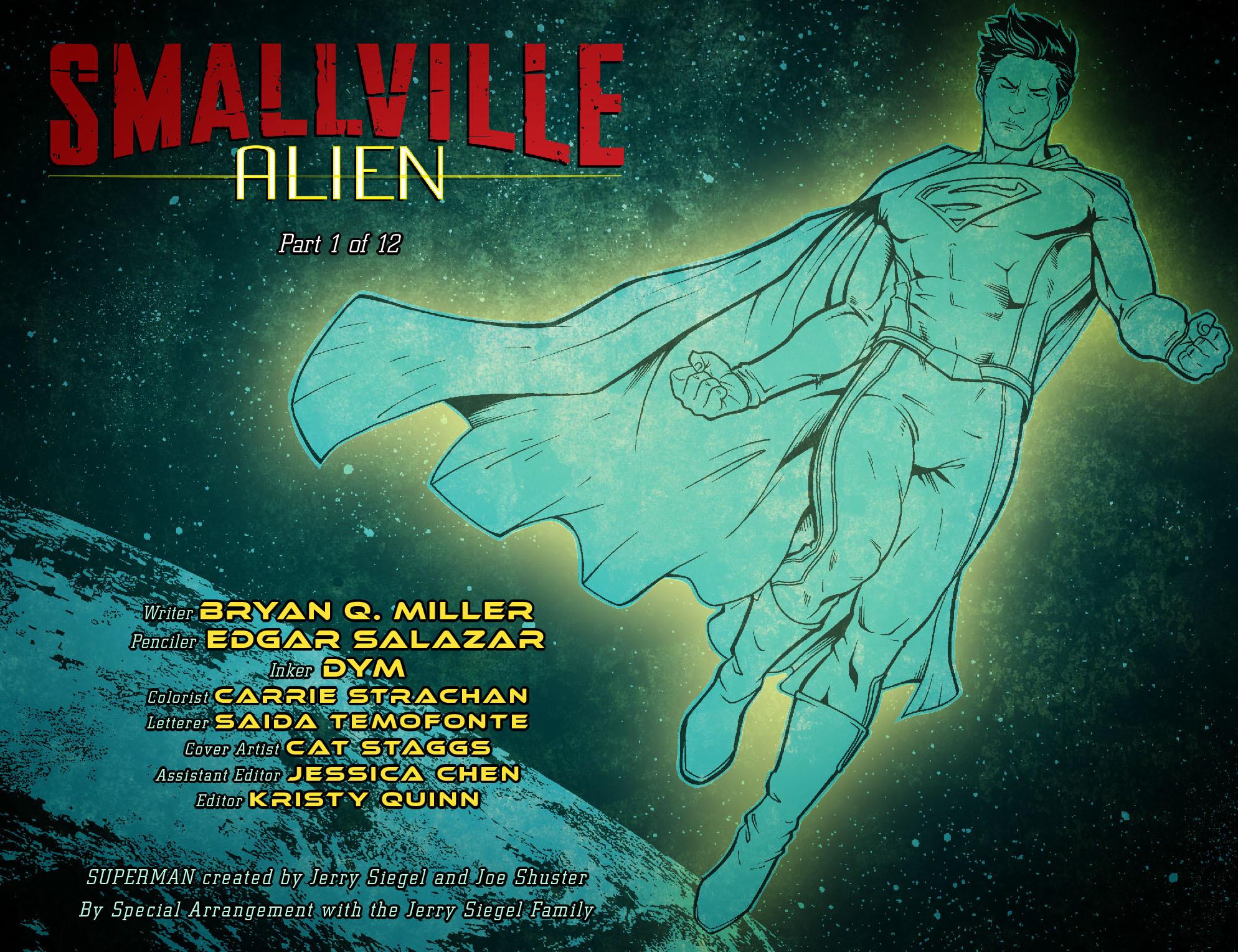 Read online Smallville: Alien comic -  Issue #1 - 2