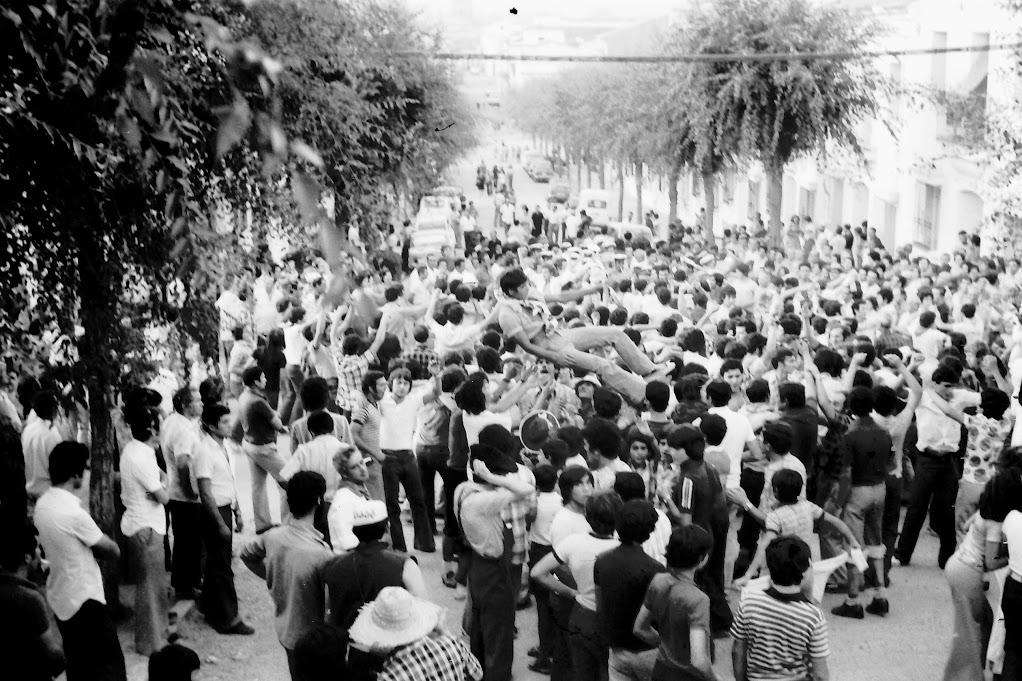 Diana de Feria de Agosto de Valverde del Camino del Año 1977