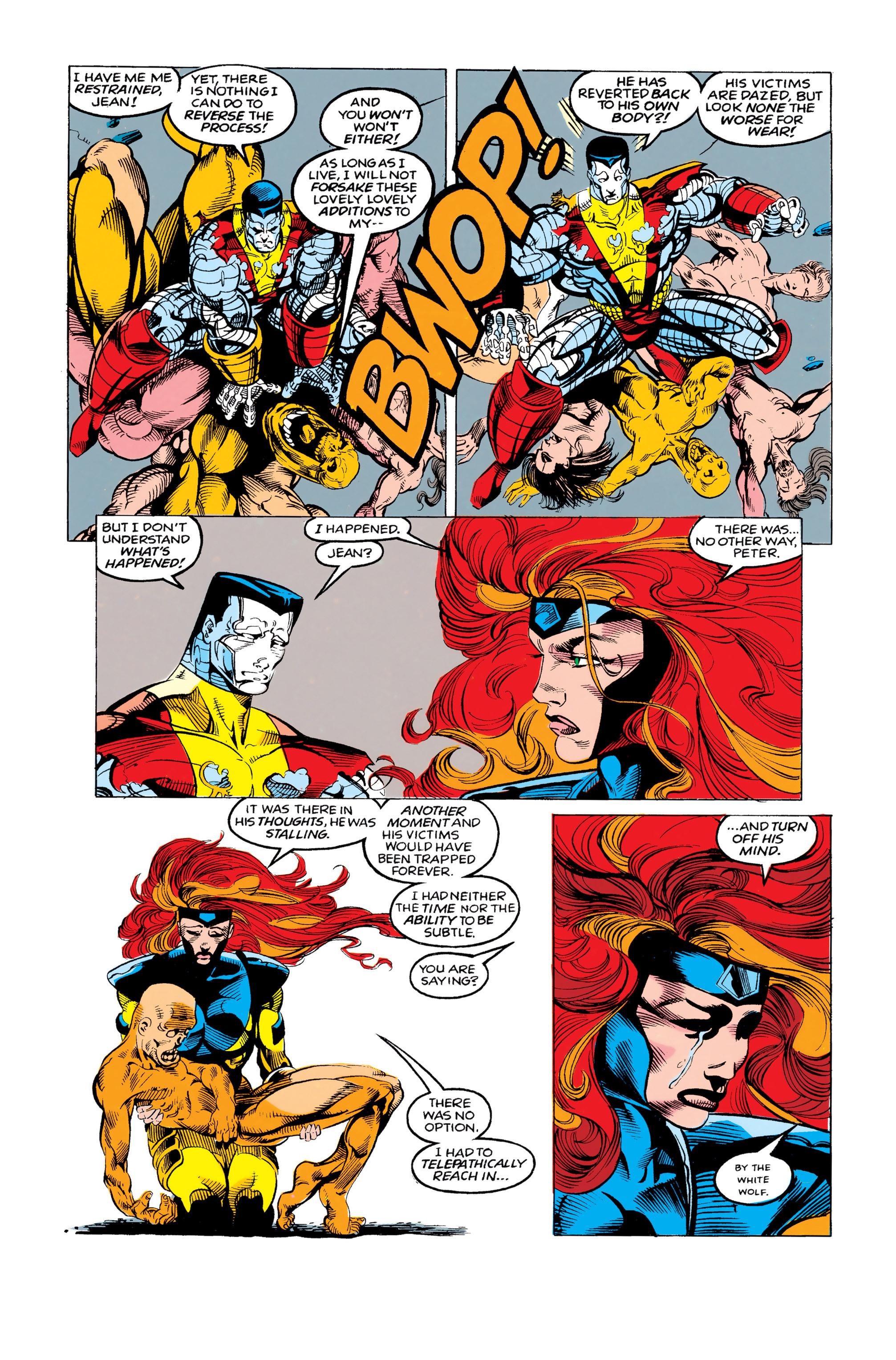 Read online Uncanny X-Men (1963) comic -  Issue #292 - 19