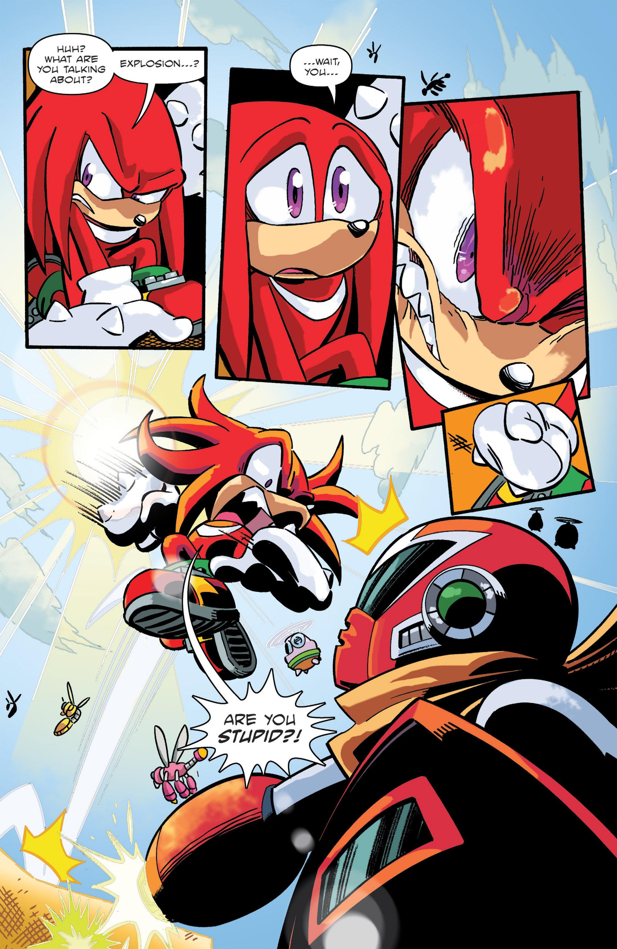 Read online Sonic: Worlds Unite Battles comic -  Issue # Full - 22