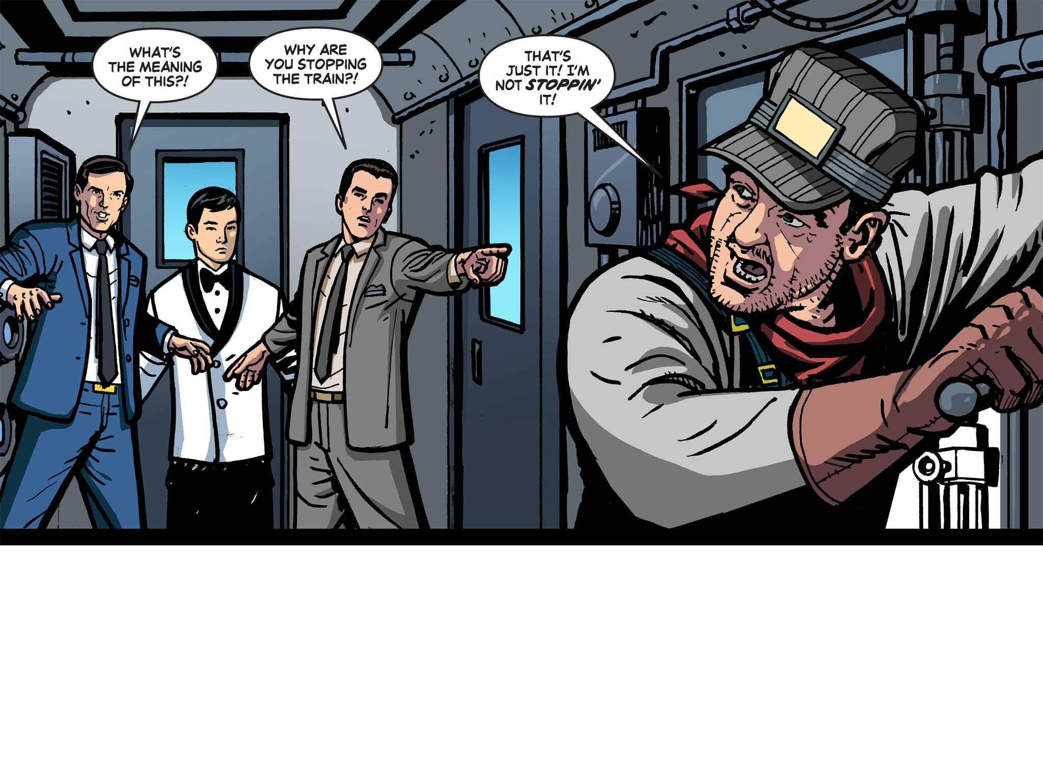 Read online Batman '66 Meets the Green Hornet [II] comic -  Issue #1 - 71