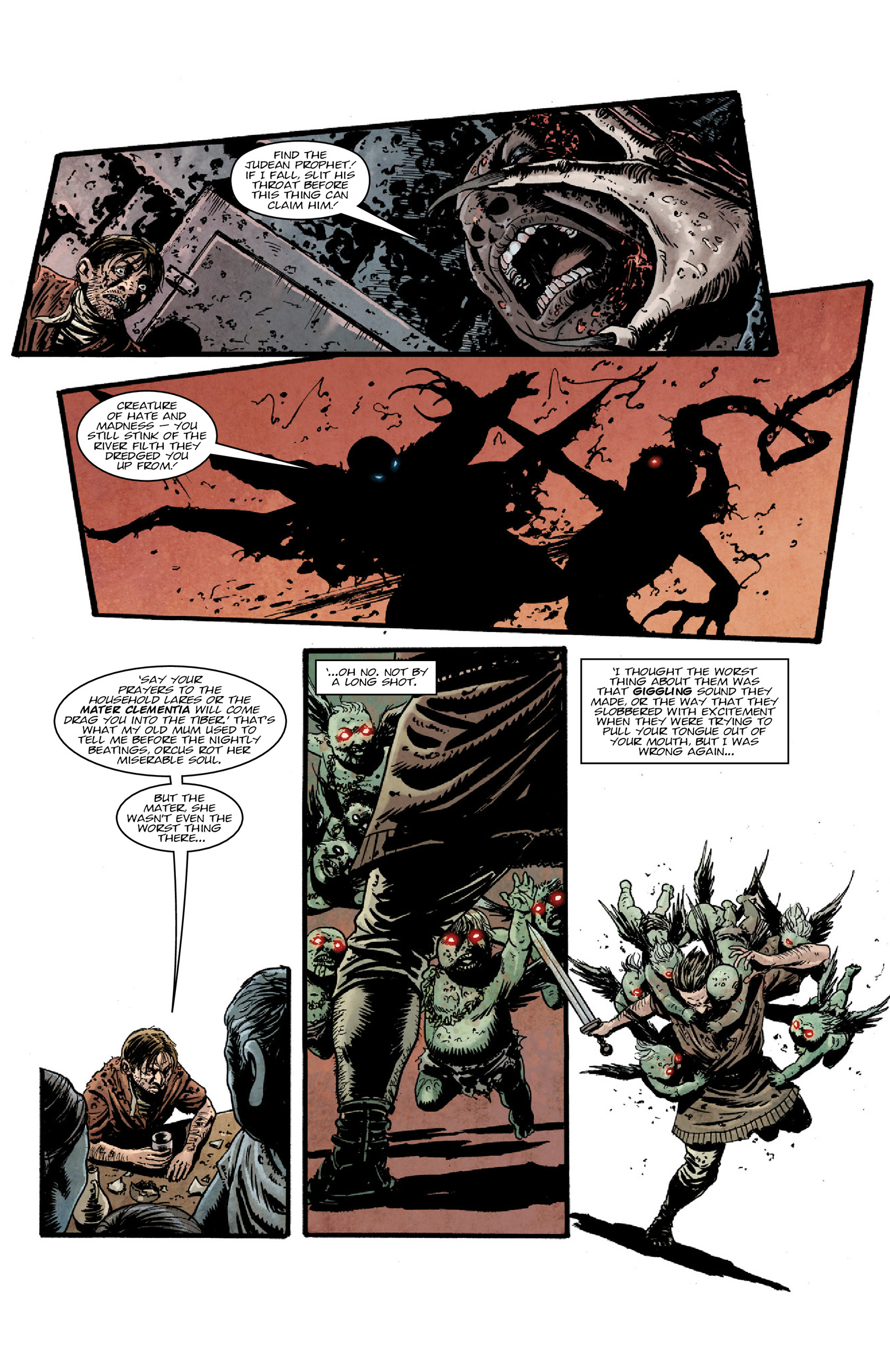 Read online Aquila comic -  Issue #5 - 19