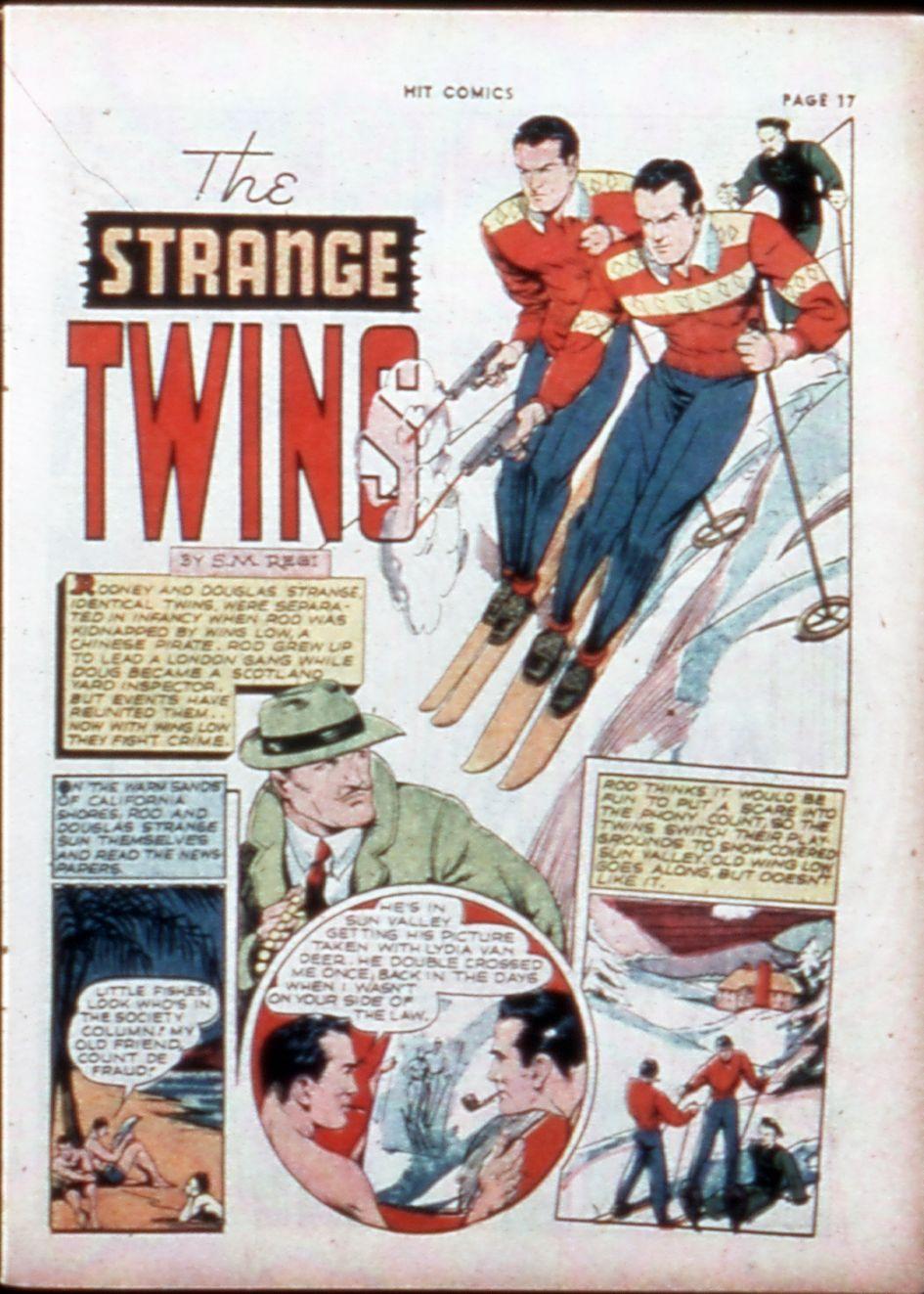 Read online Hit Comics comic -  Issue #14 - 19