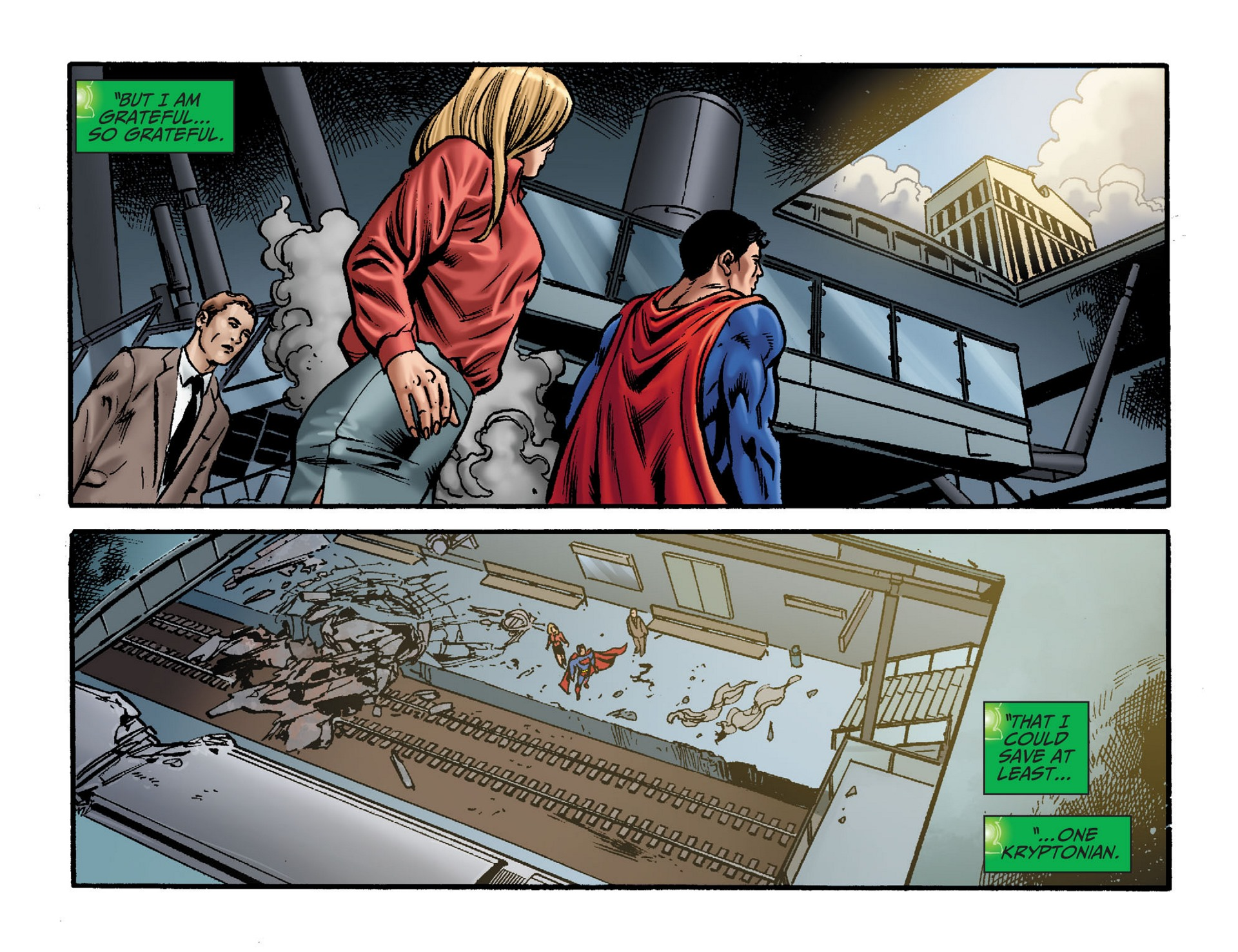 Read online Adventures of Superman [I] comic -  Issue #33 - 20